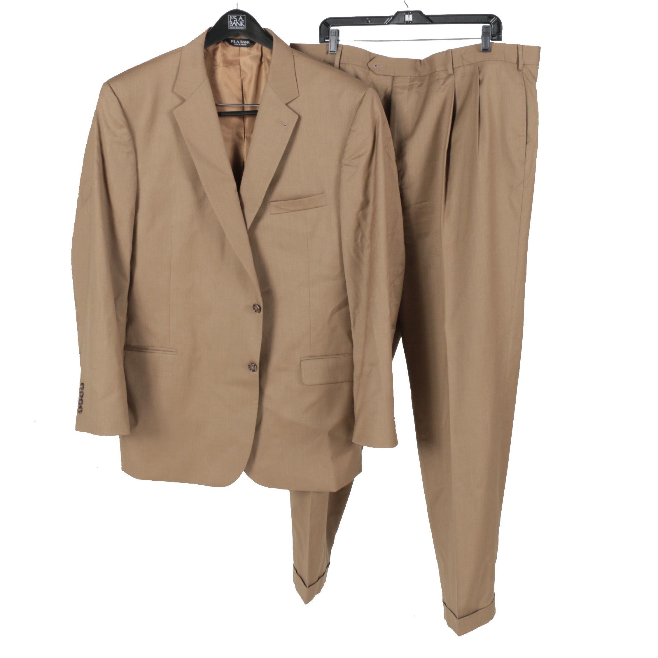 Men's Jos. A. Bank Tan Suit