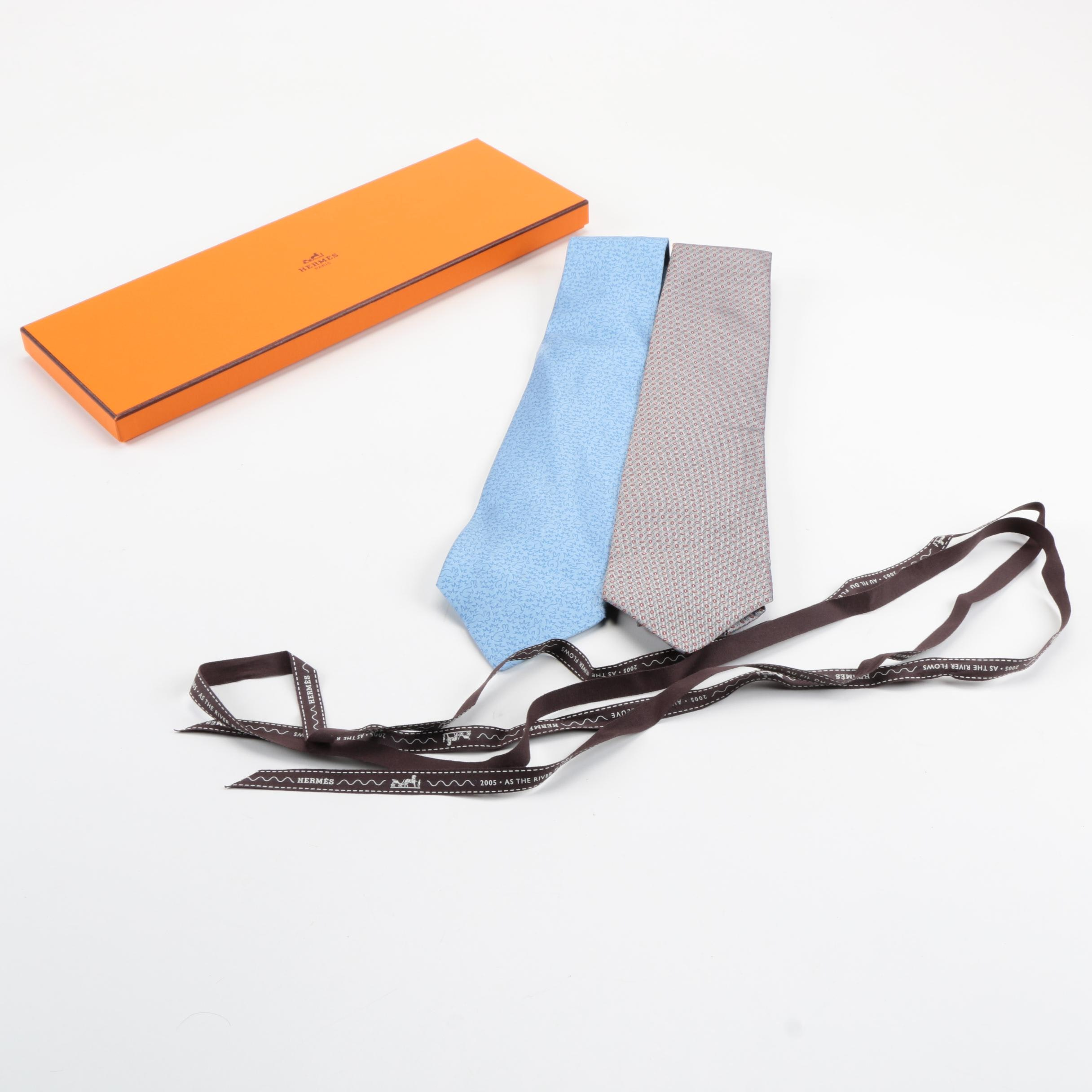 Hermès Silk Ties