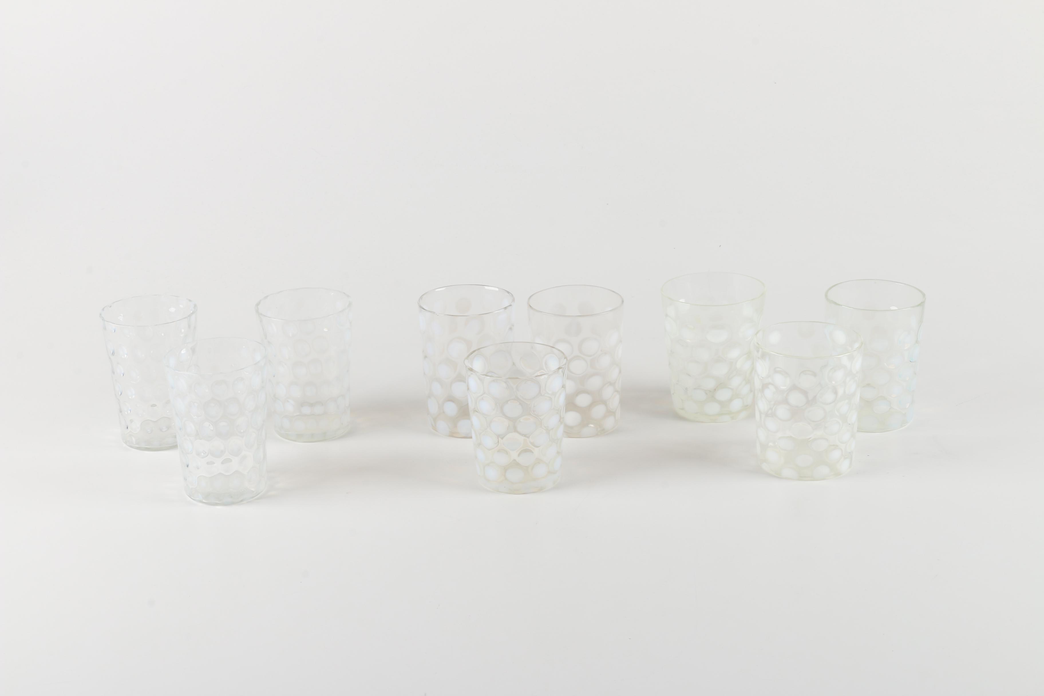 Mid-Century Juice Glasses