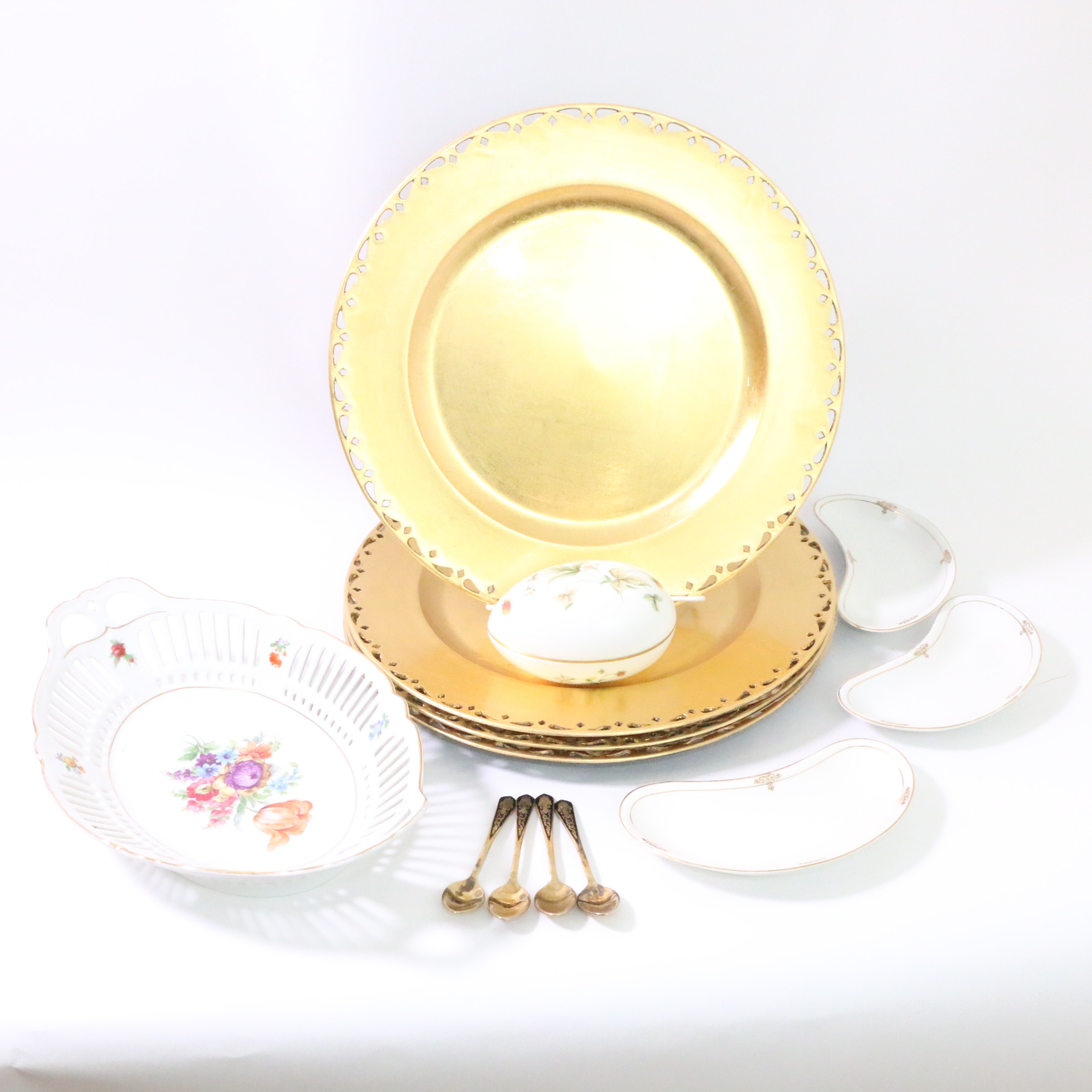 Assorted Tableware Including Porcelain
