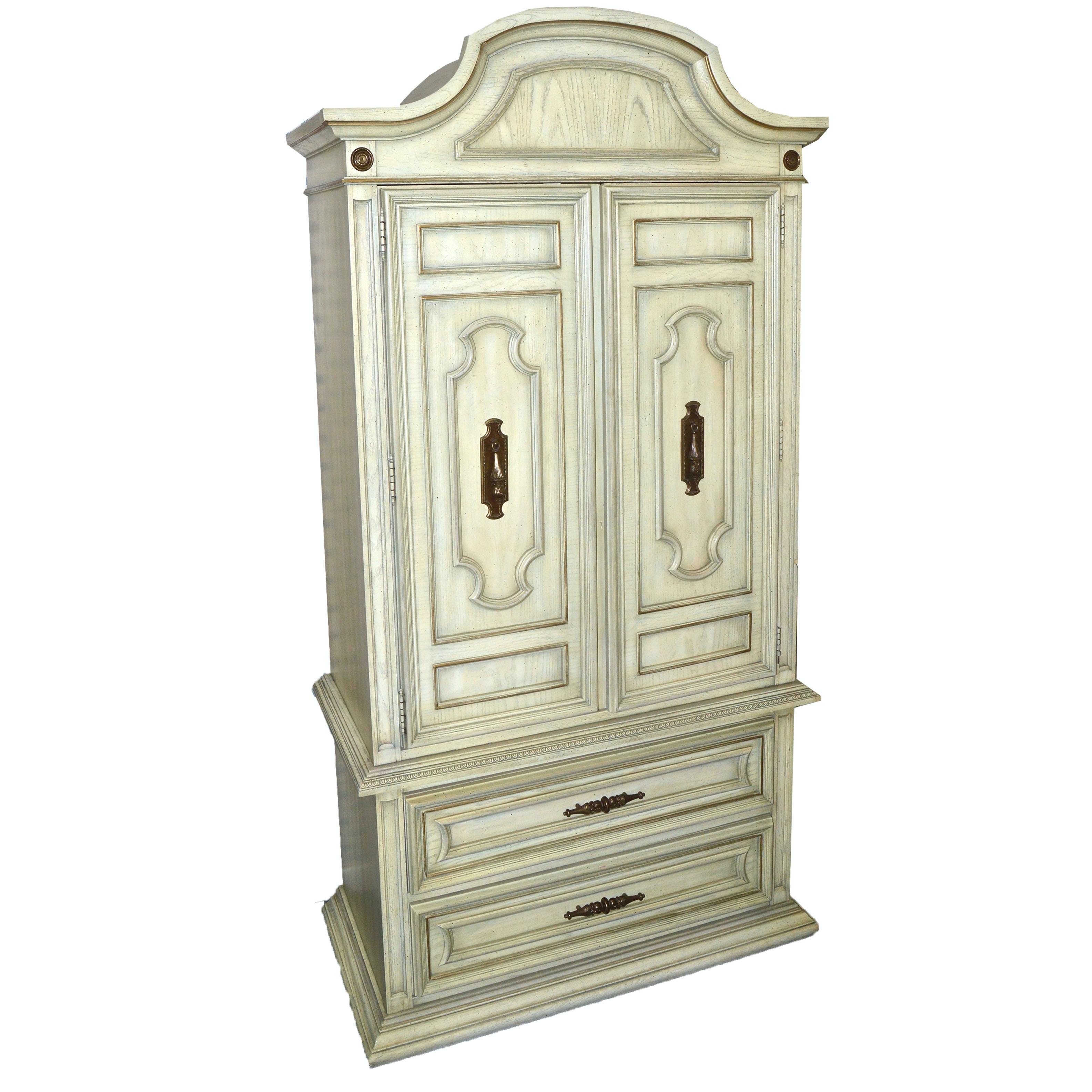 Louis XVI Style Wardrobe by Stanley Furniture