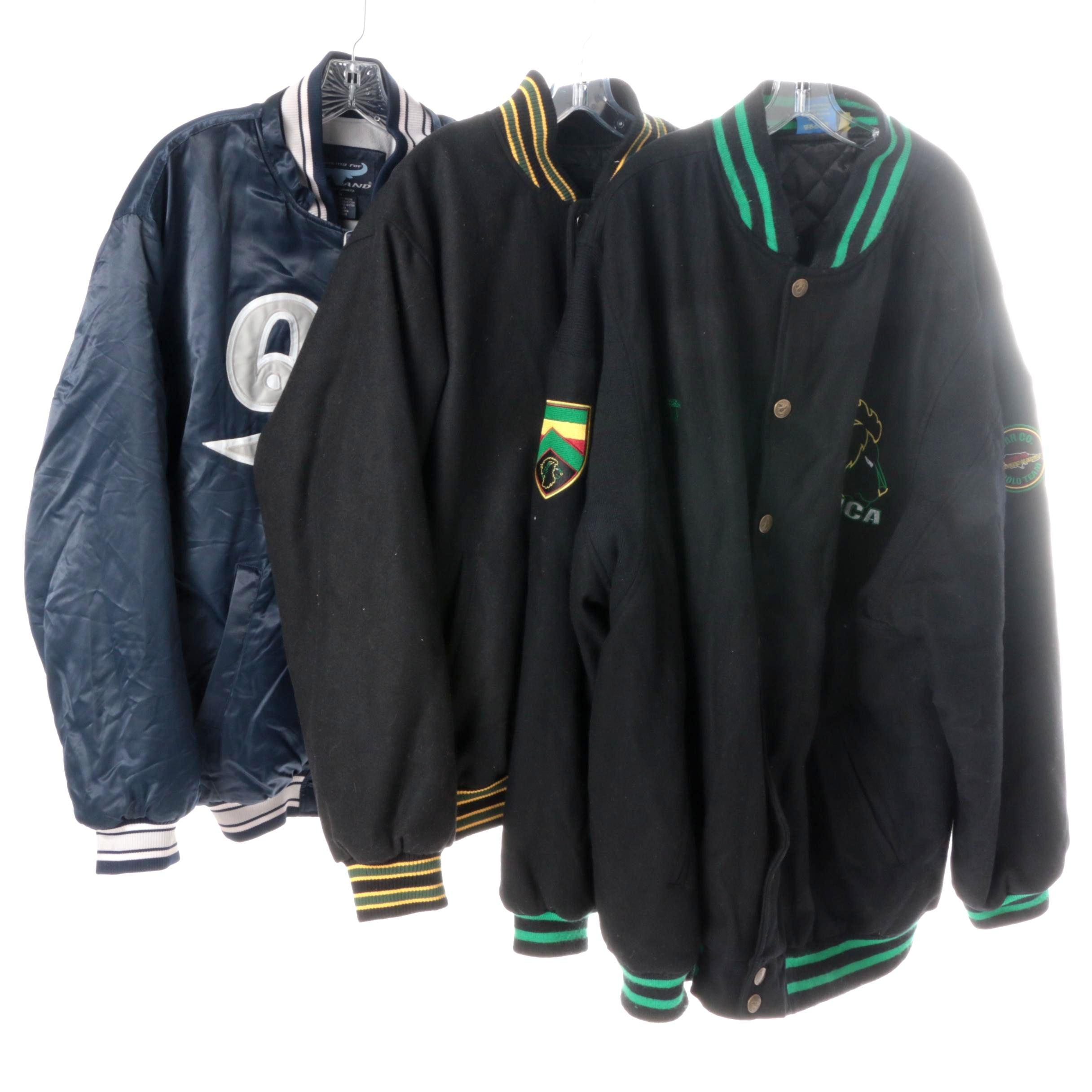 Men's Sports Varsity Jackets