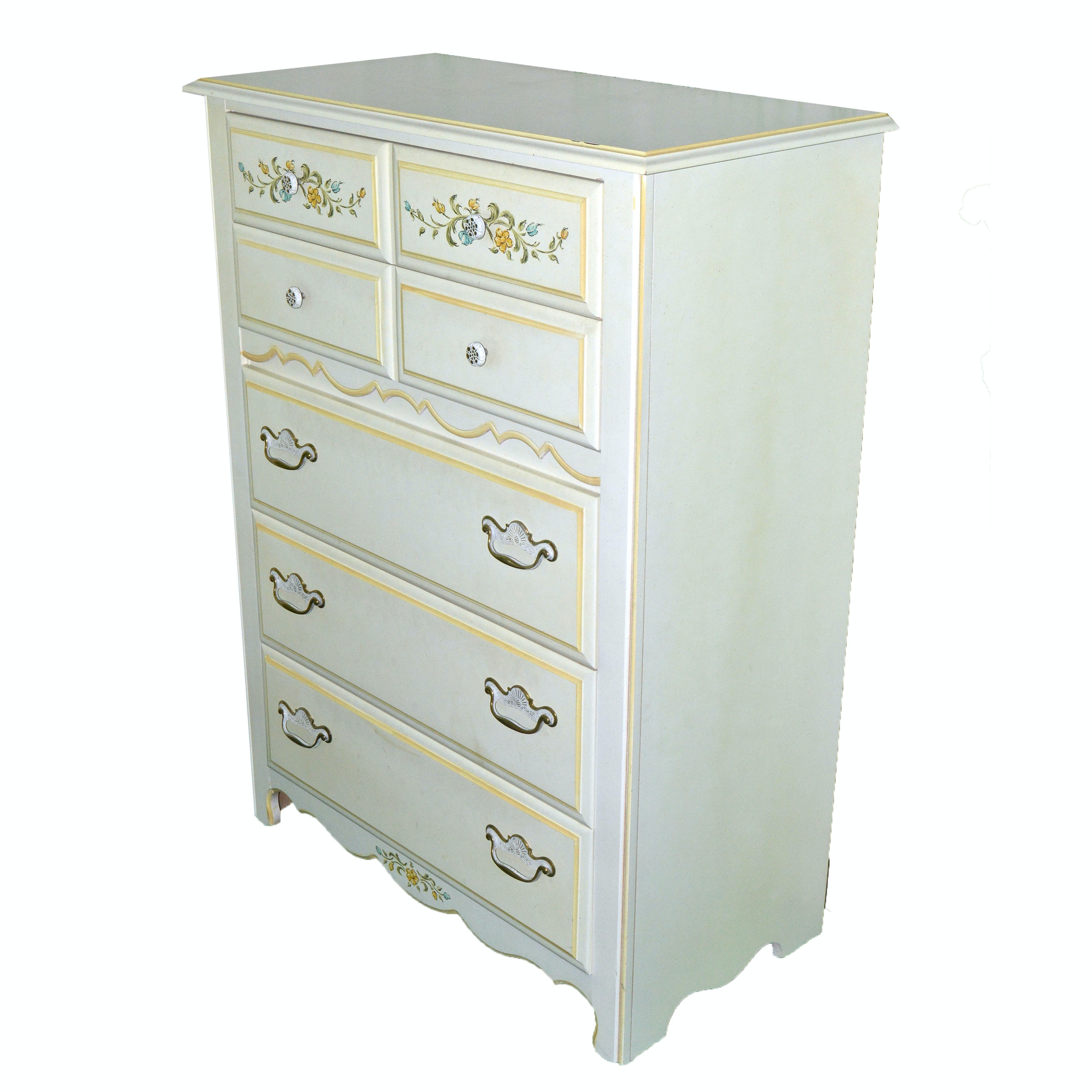 French Country Inspired Chest of Drawers