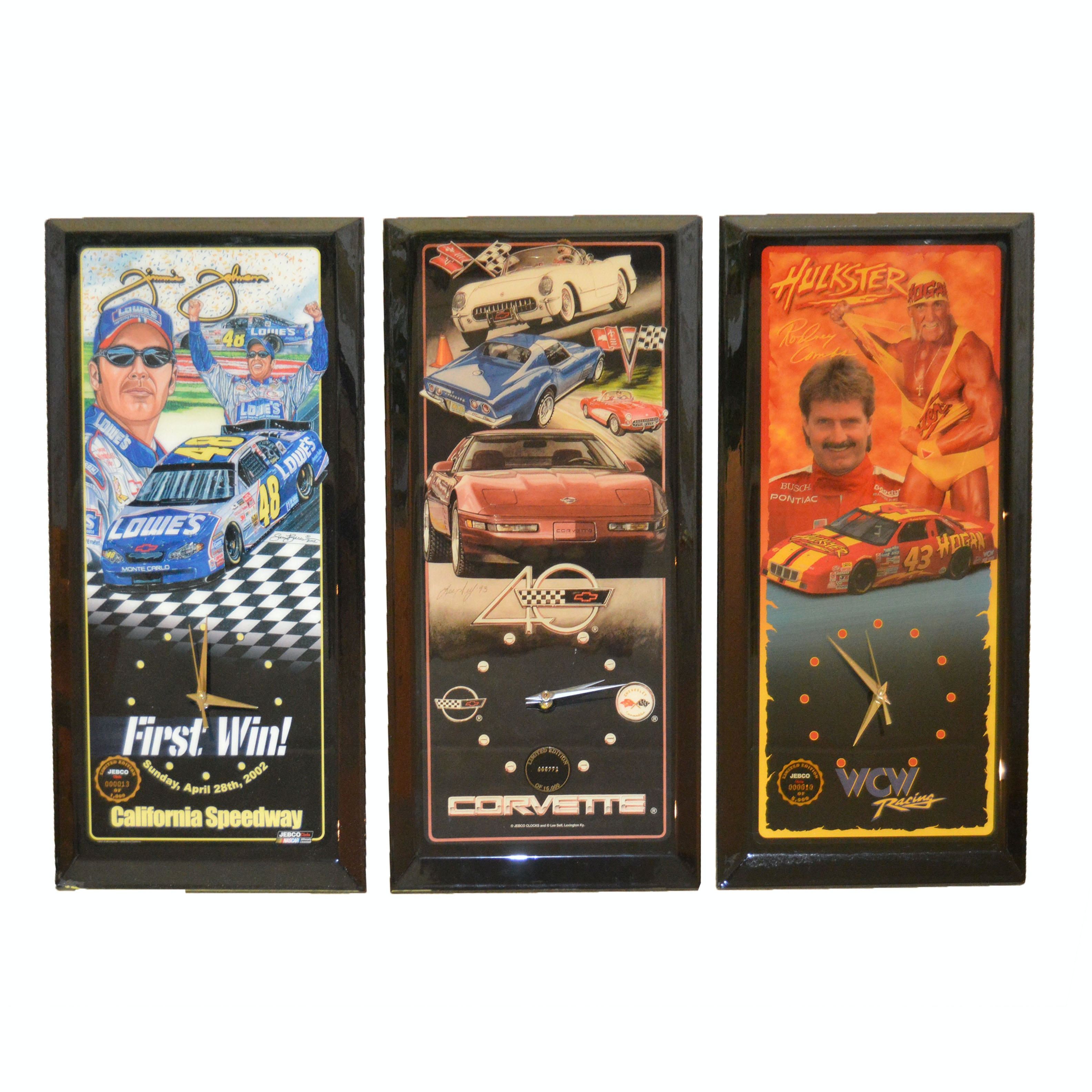Limited Edition Racing Clocks by Jebco, Including Jimmie Johnson's First Win