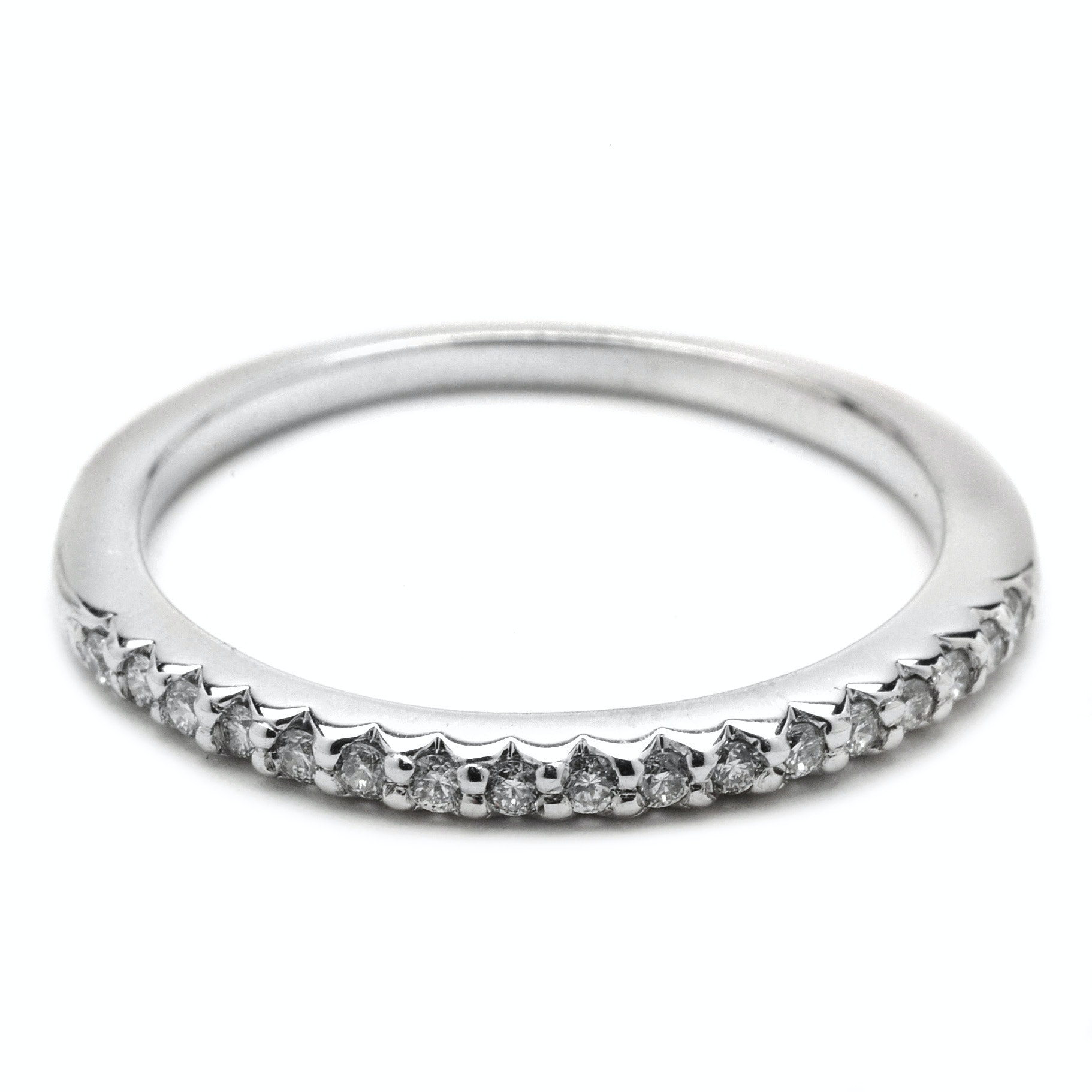 I.B. Goodman 14K White Gold Diamond Band Ring