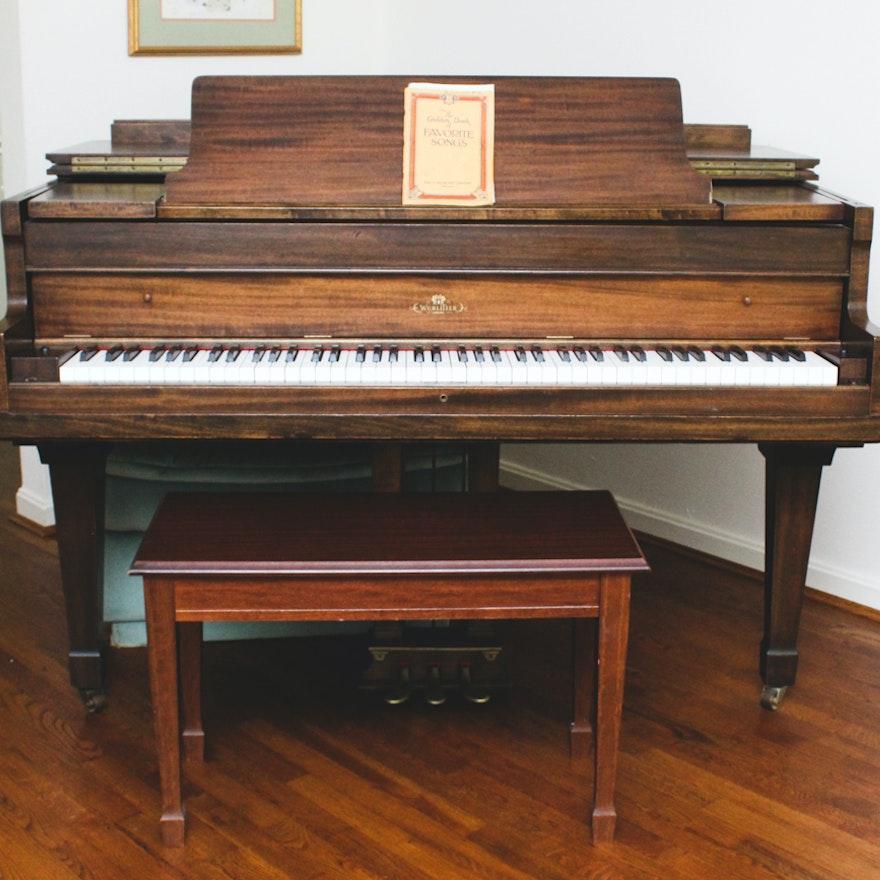 Wurlitzer Baby Grand Piano Ebth