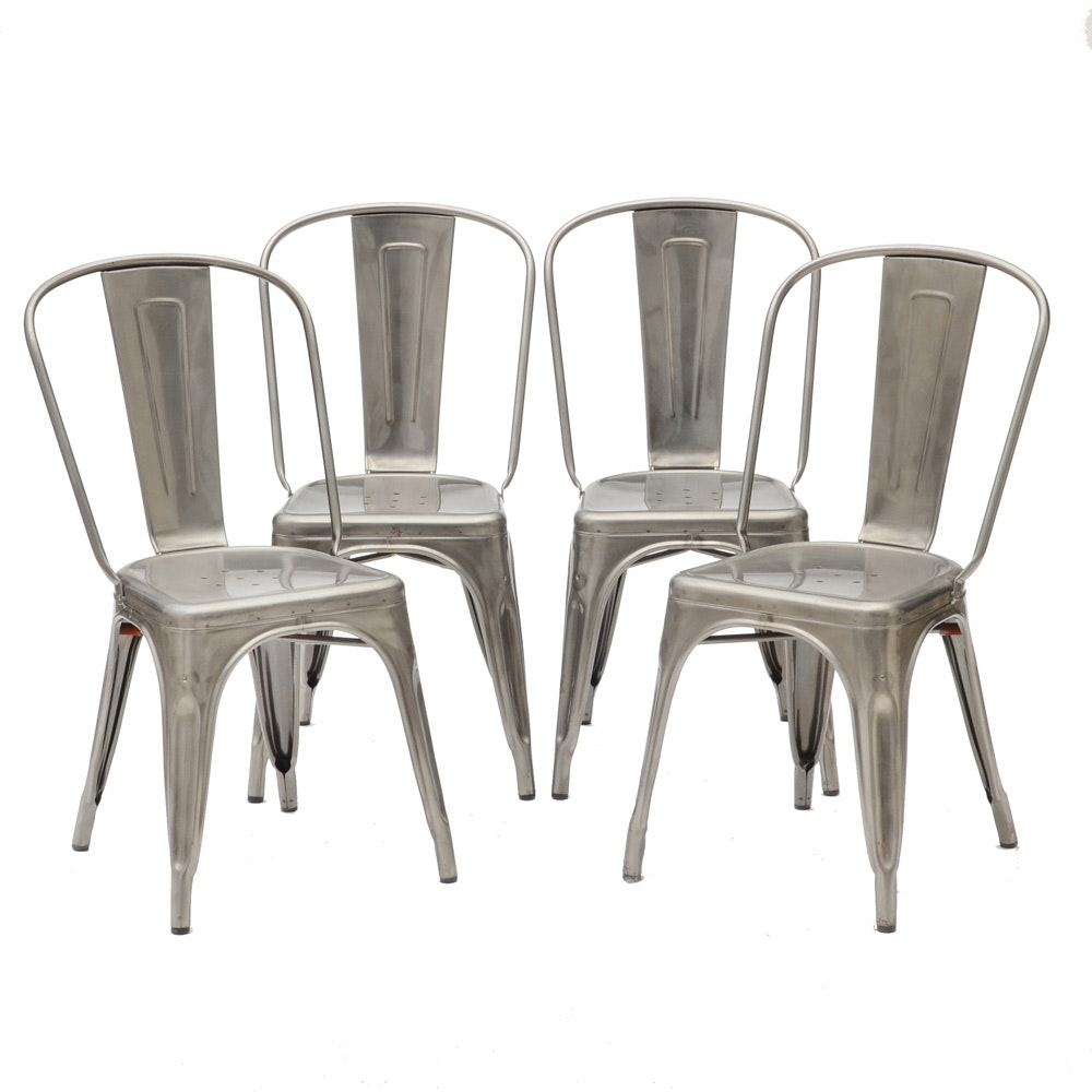 French Tolix Cafe Chairs