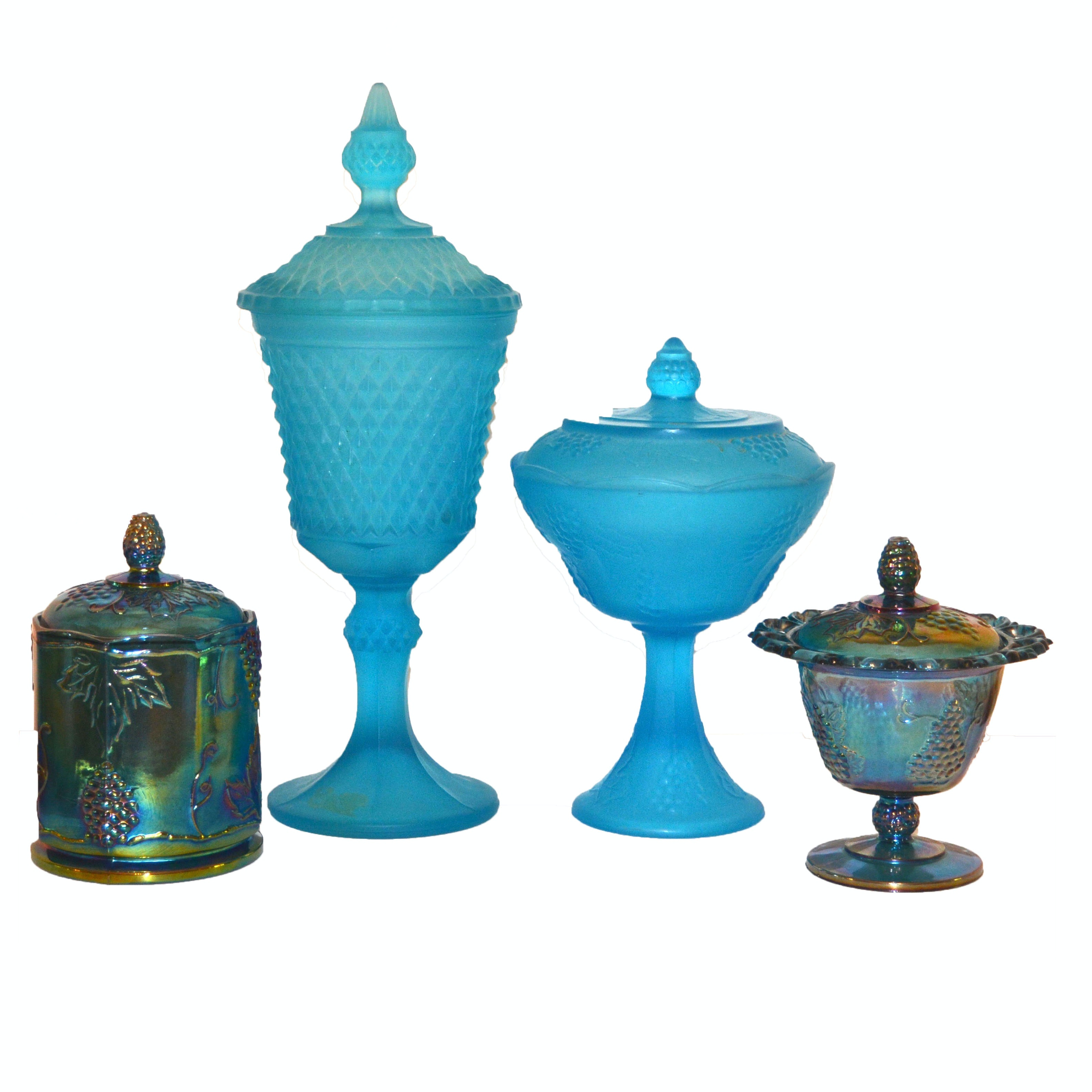 Carnival Glass and Vintage Indiana Glass