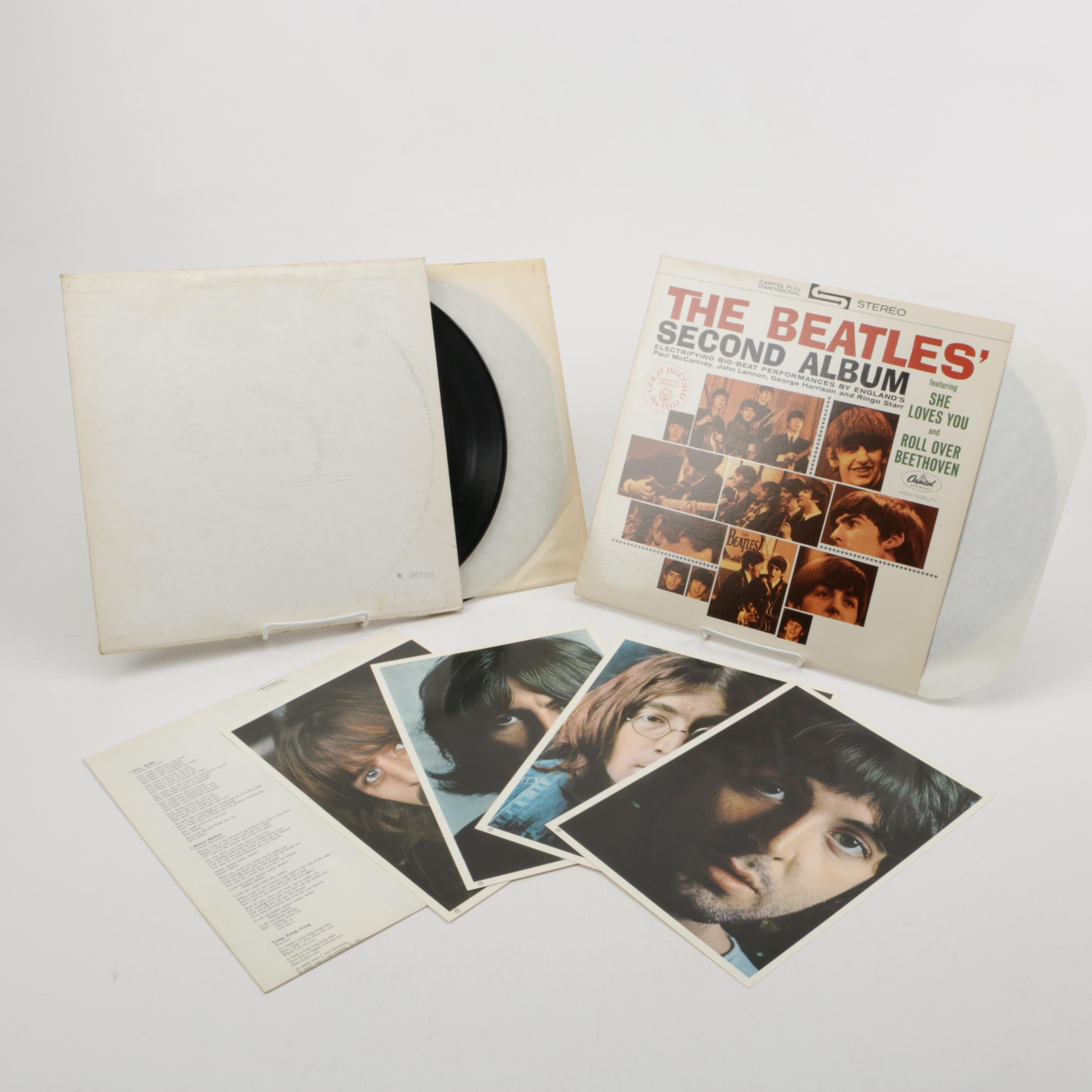 "The Beatles ""Second Album"" and ""White Album"" Records"