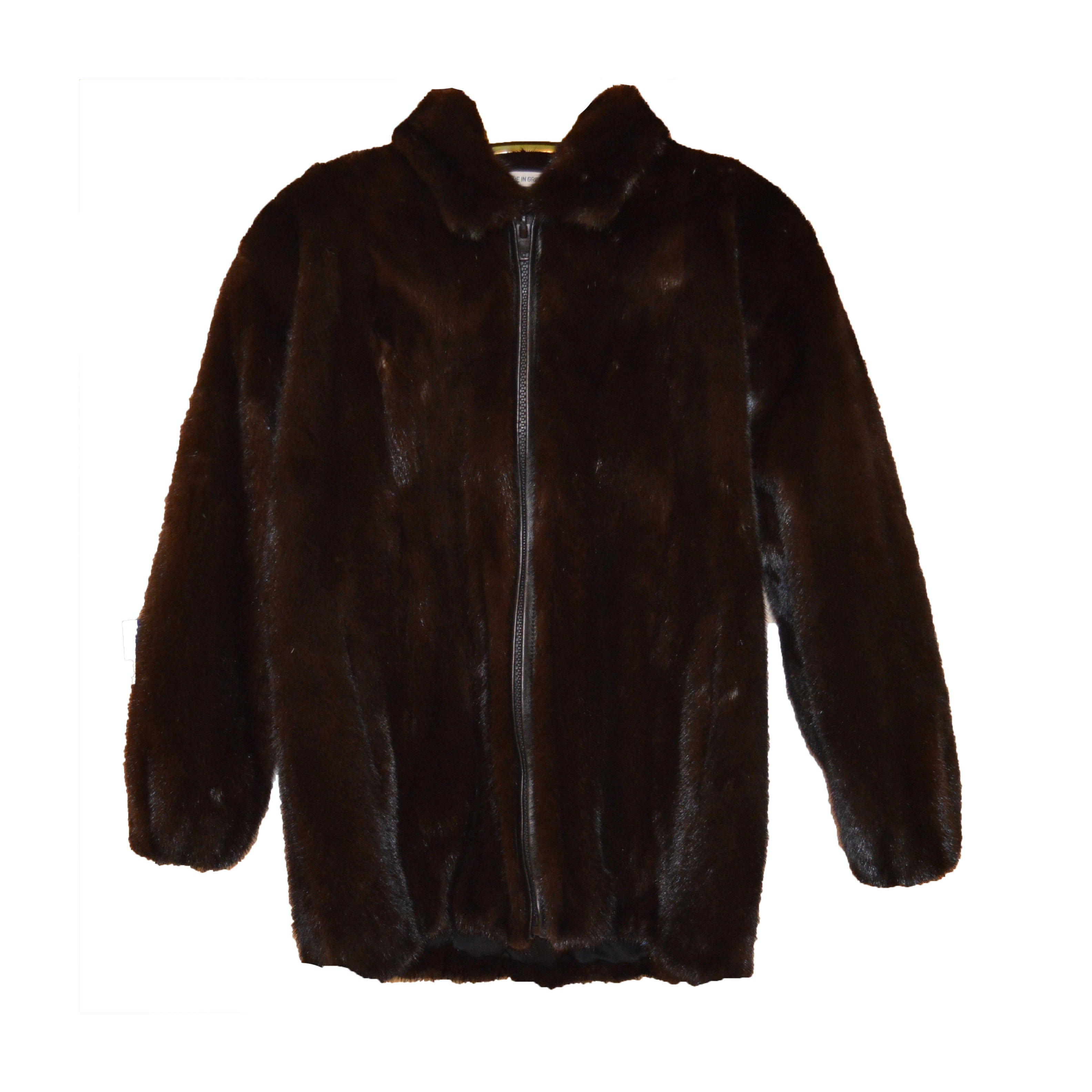 Mink Fur Jacket by The Evans Collection