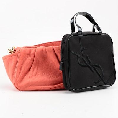 11bff6a014fa J.Crew Handbag and YSL Cosmetic Bag