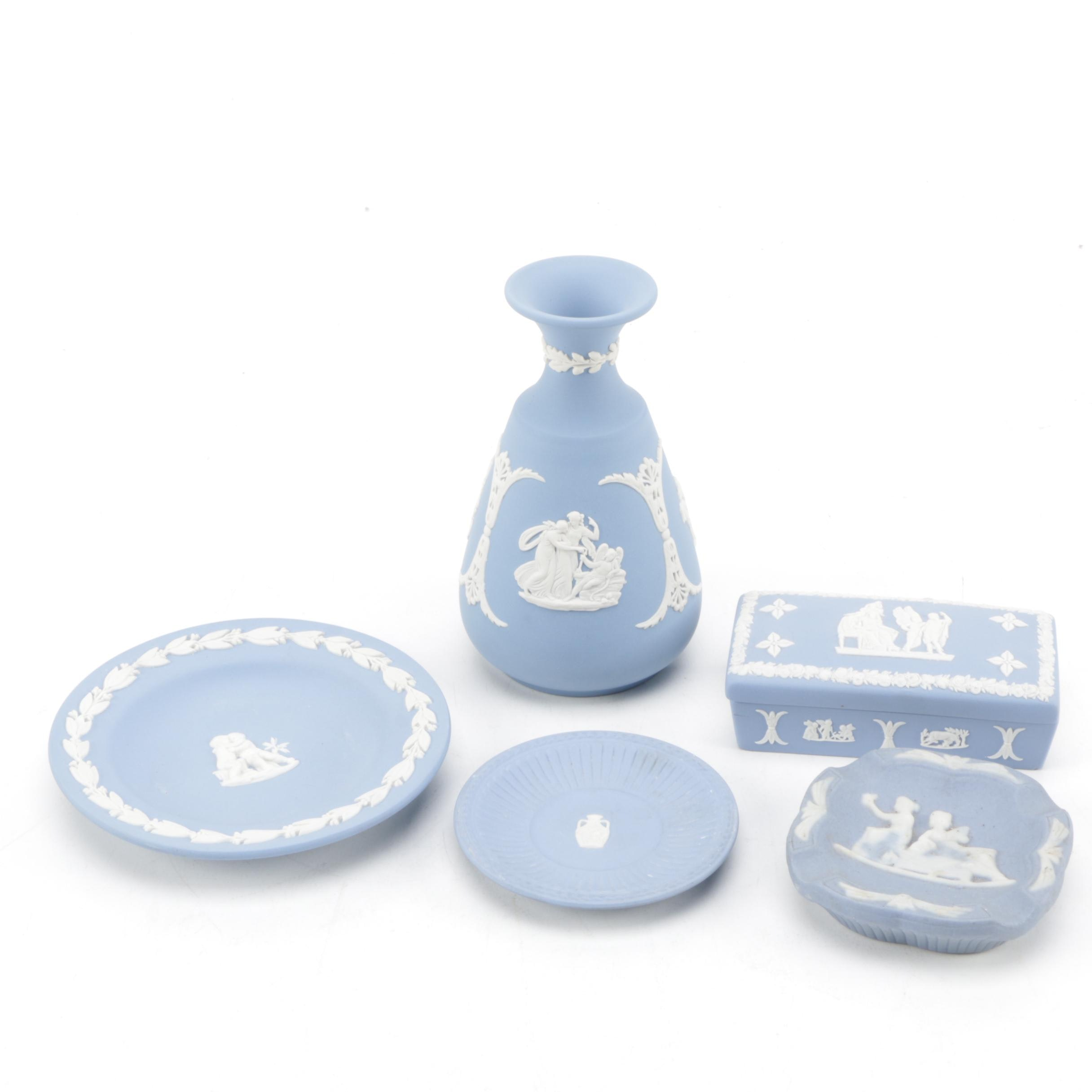 Collection of Wedgwood Jasperware