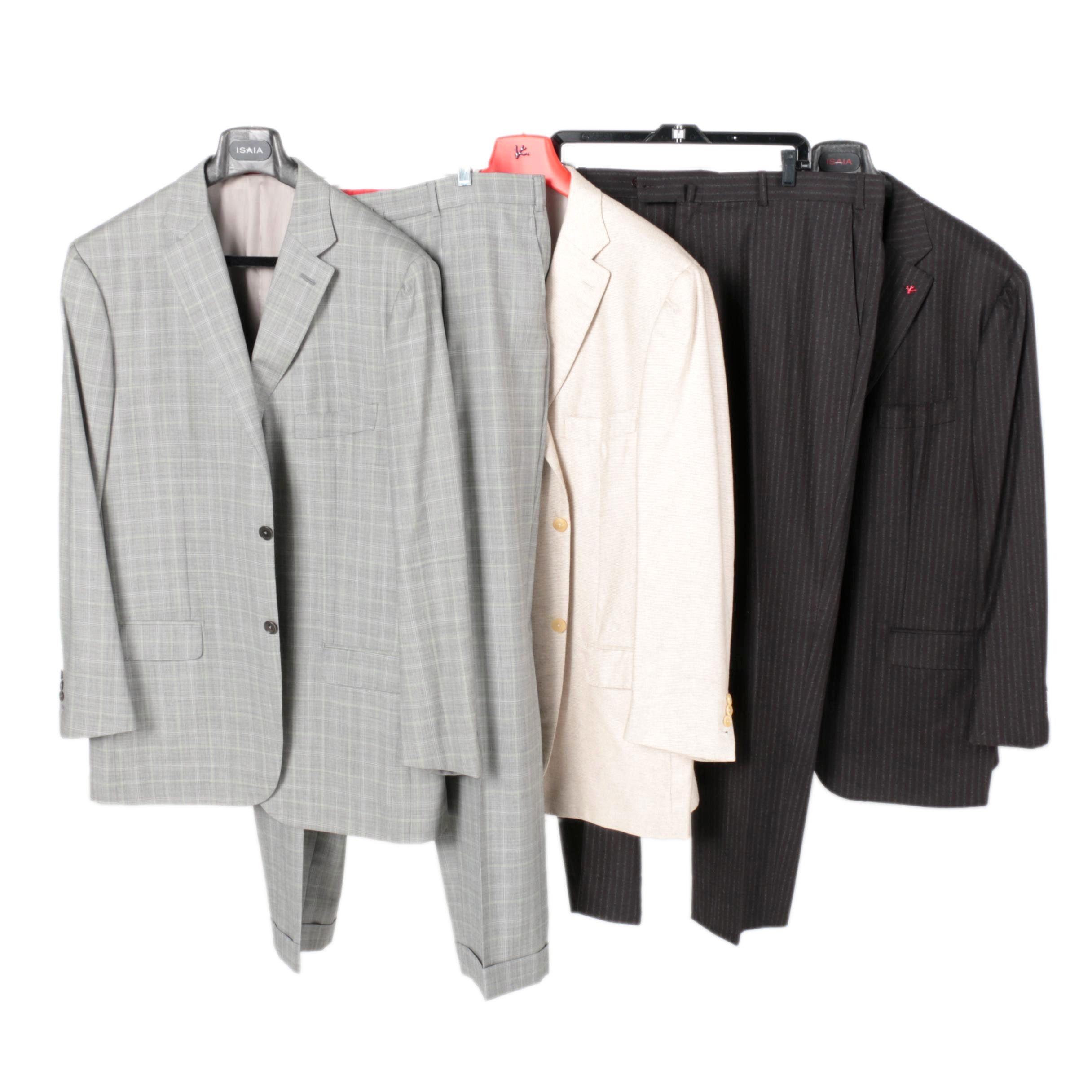 Men's Isaia Napoli Suits