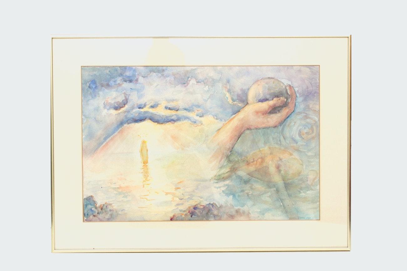 Patricia Dunn Watercolor