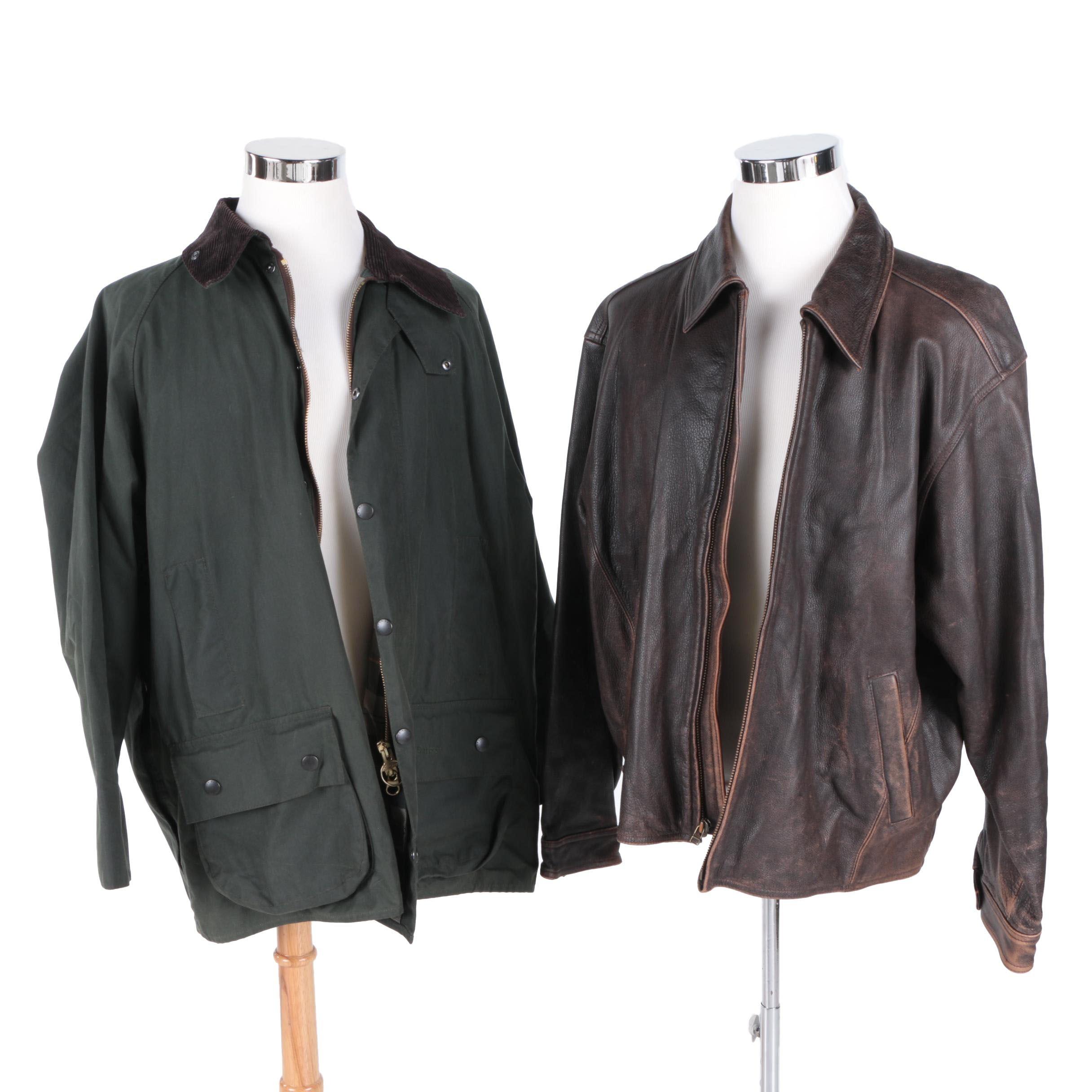 Men's Jackets Including Eddie Bauer