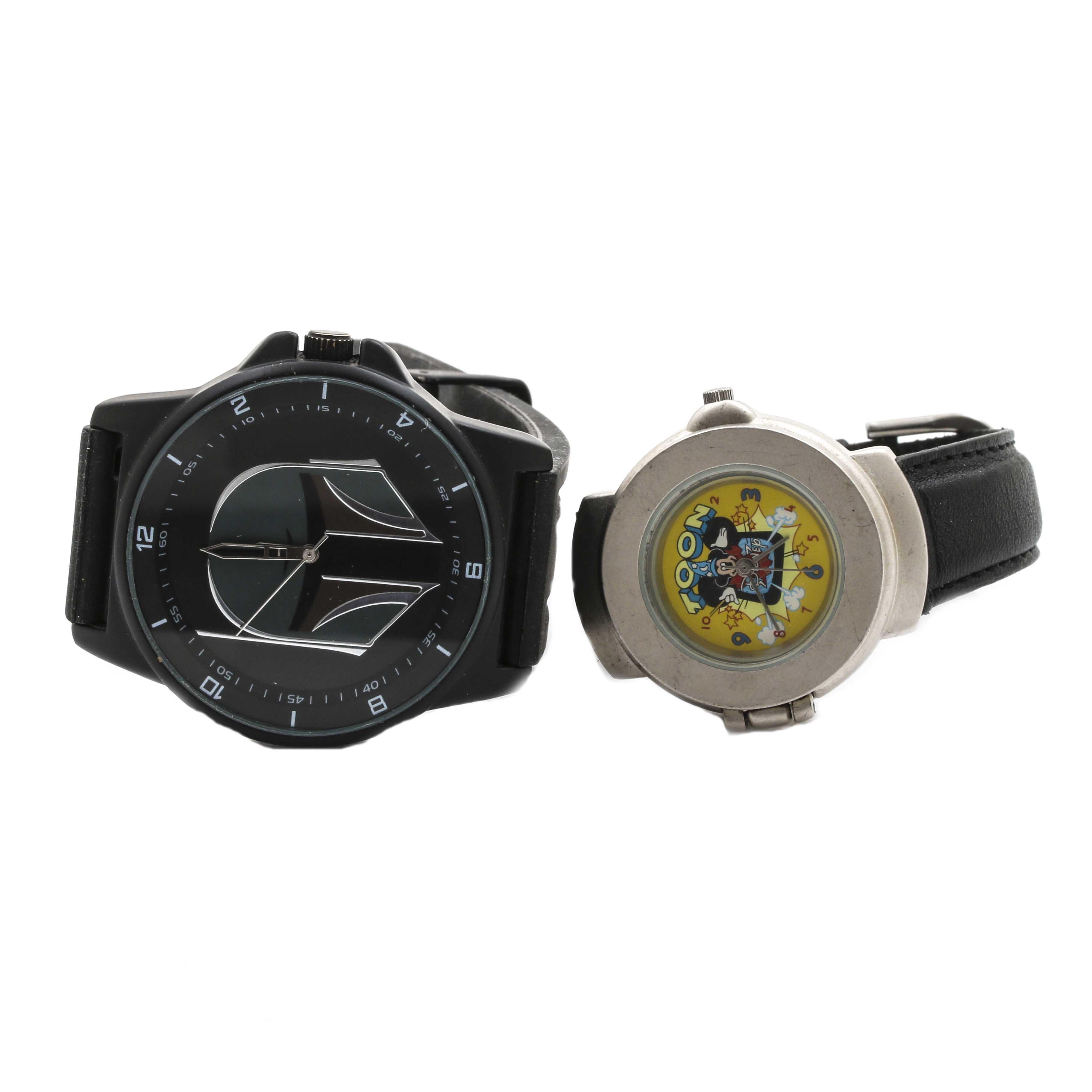Toon Disney and Star Wars Wristwatch
