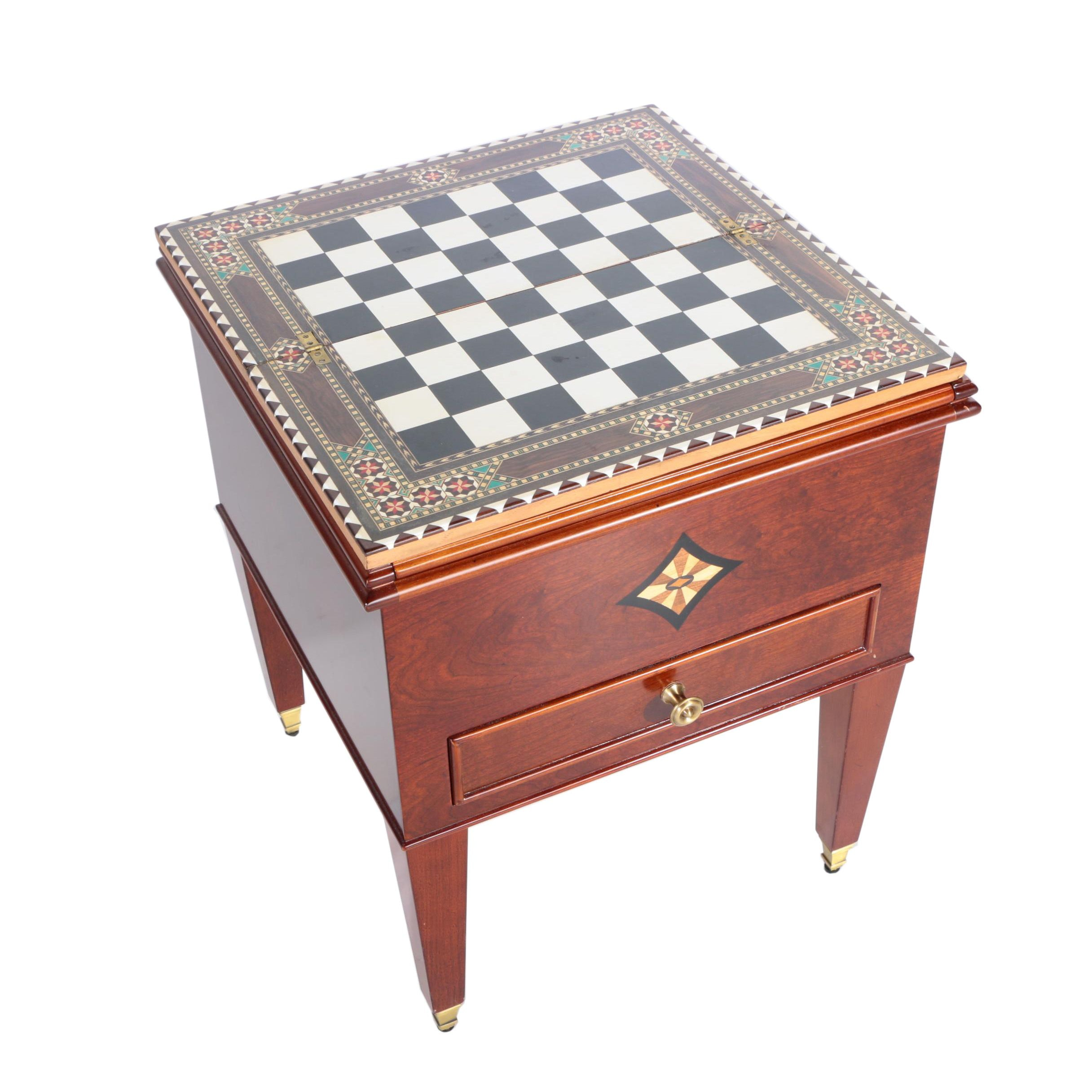 Game Table from The Bombay Company