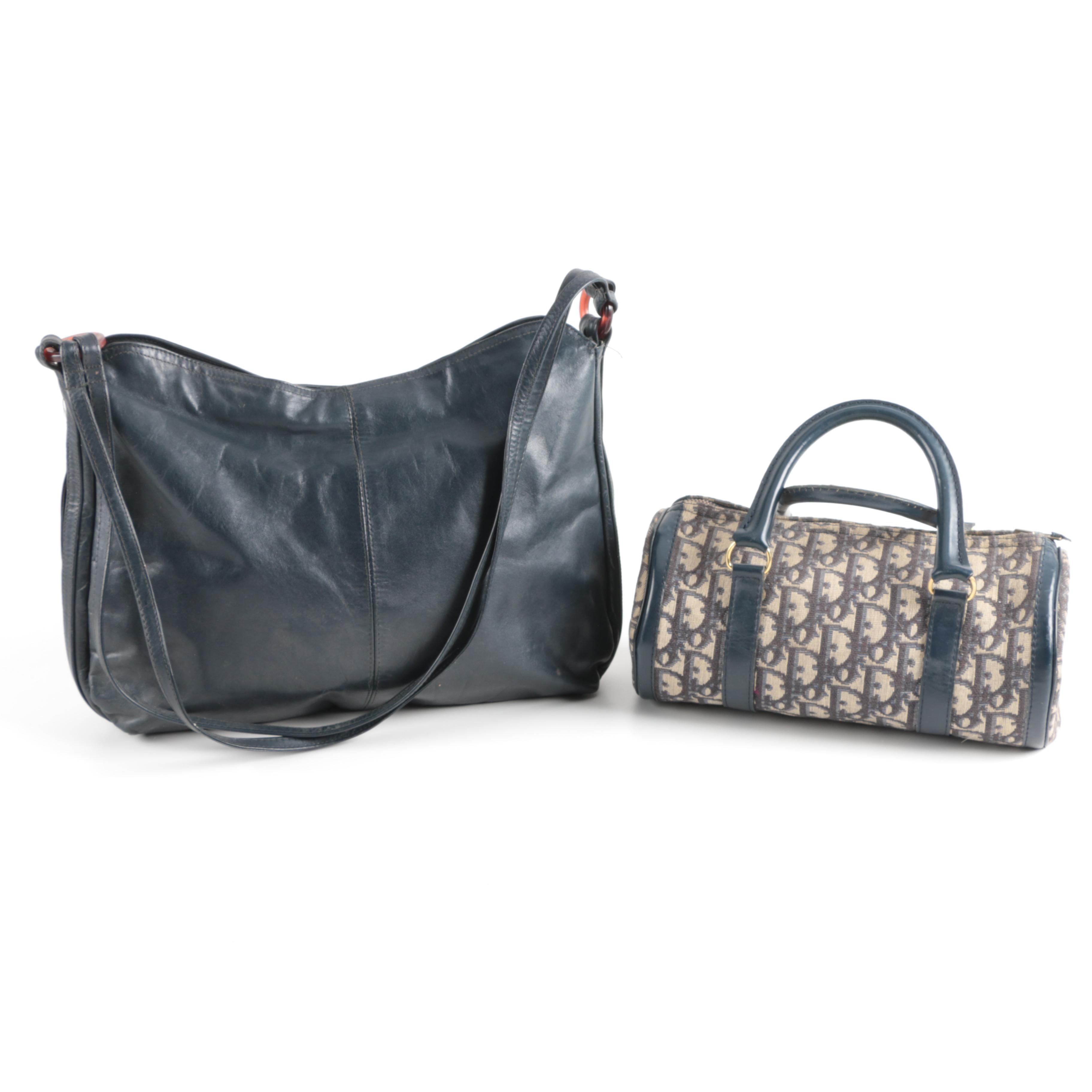 Vintage Dior and Saks Fifth Avenue Handbags