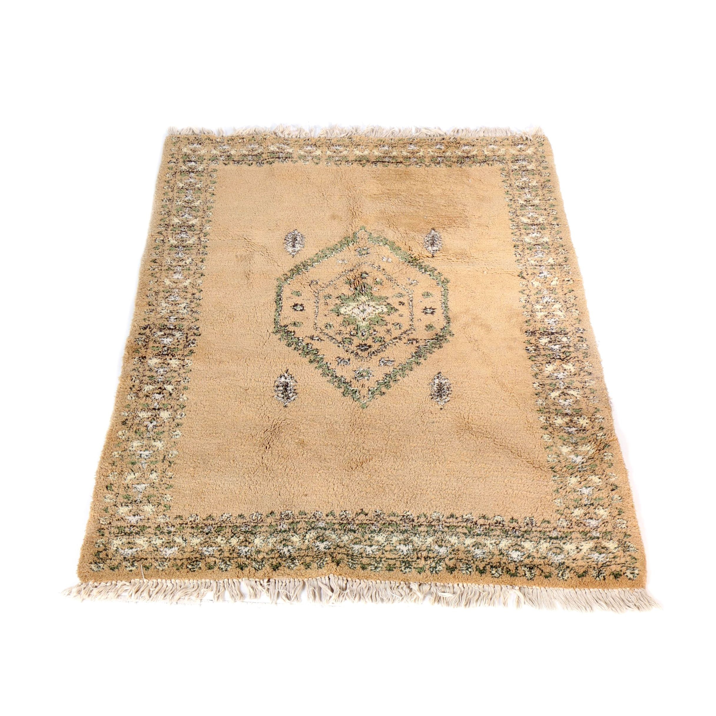 """Hand-Knotted Moroccan """"Moderne"""" Wool Area Rug"""