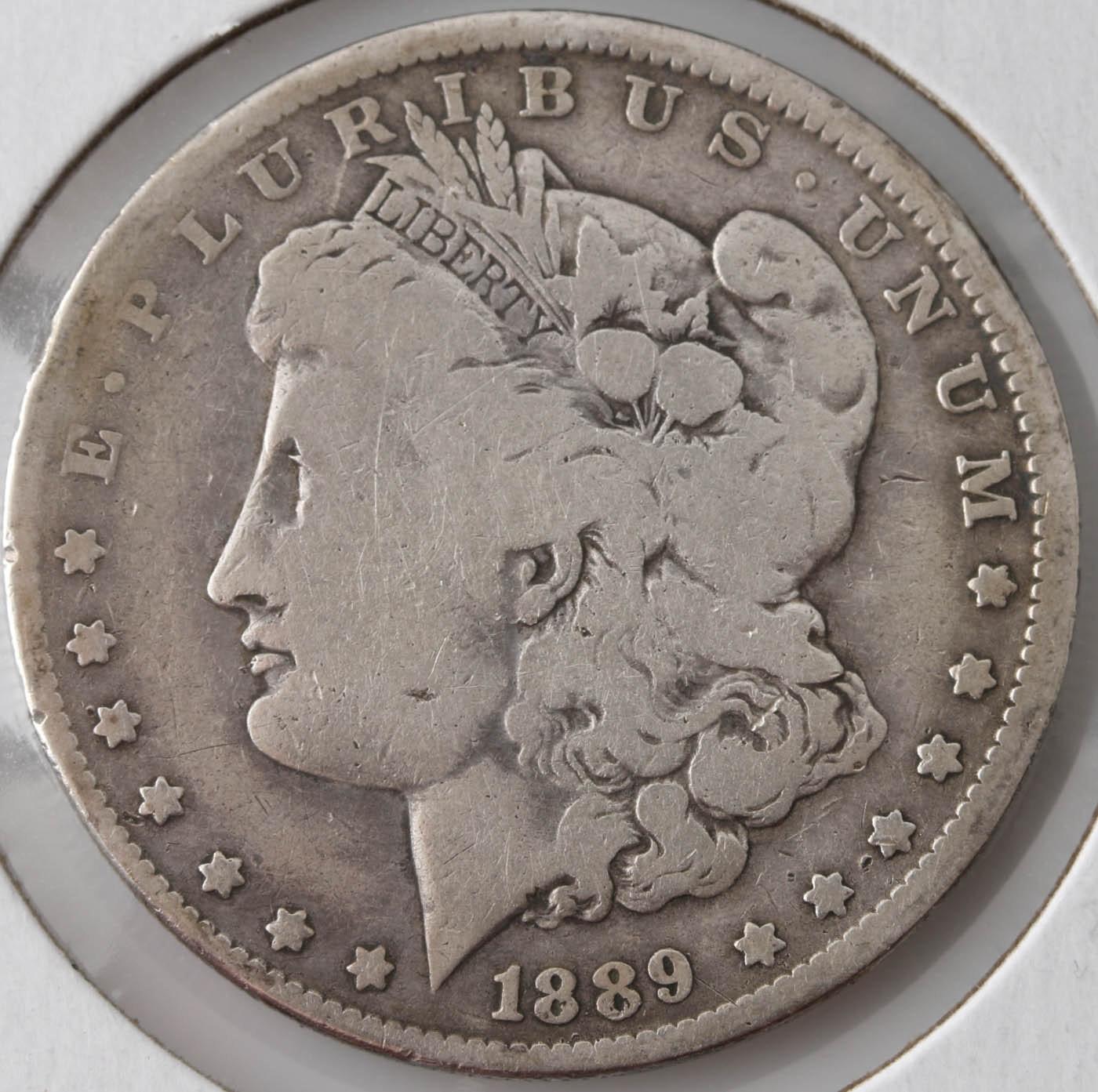 1889 O Silver Morgan Dollar