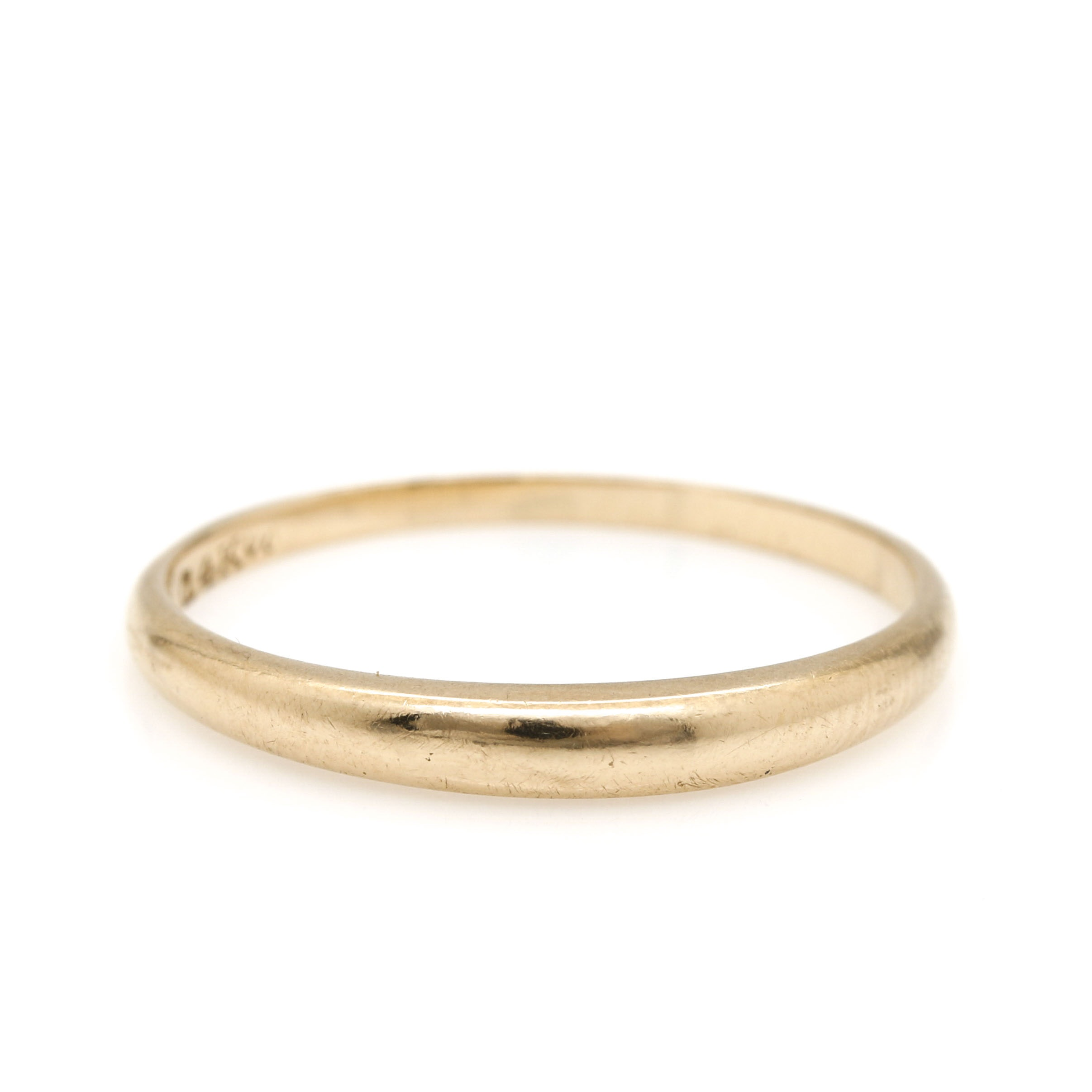 14K Yellow Gold Ring Band