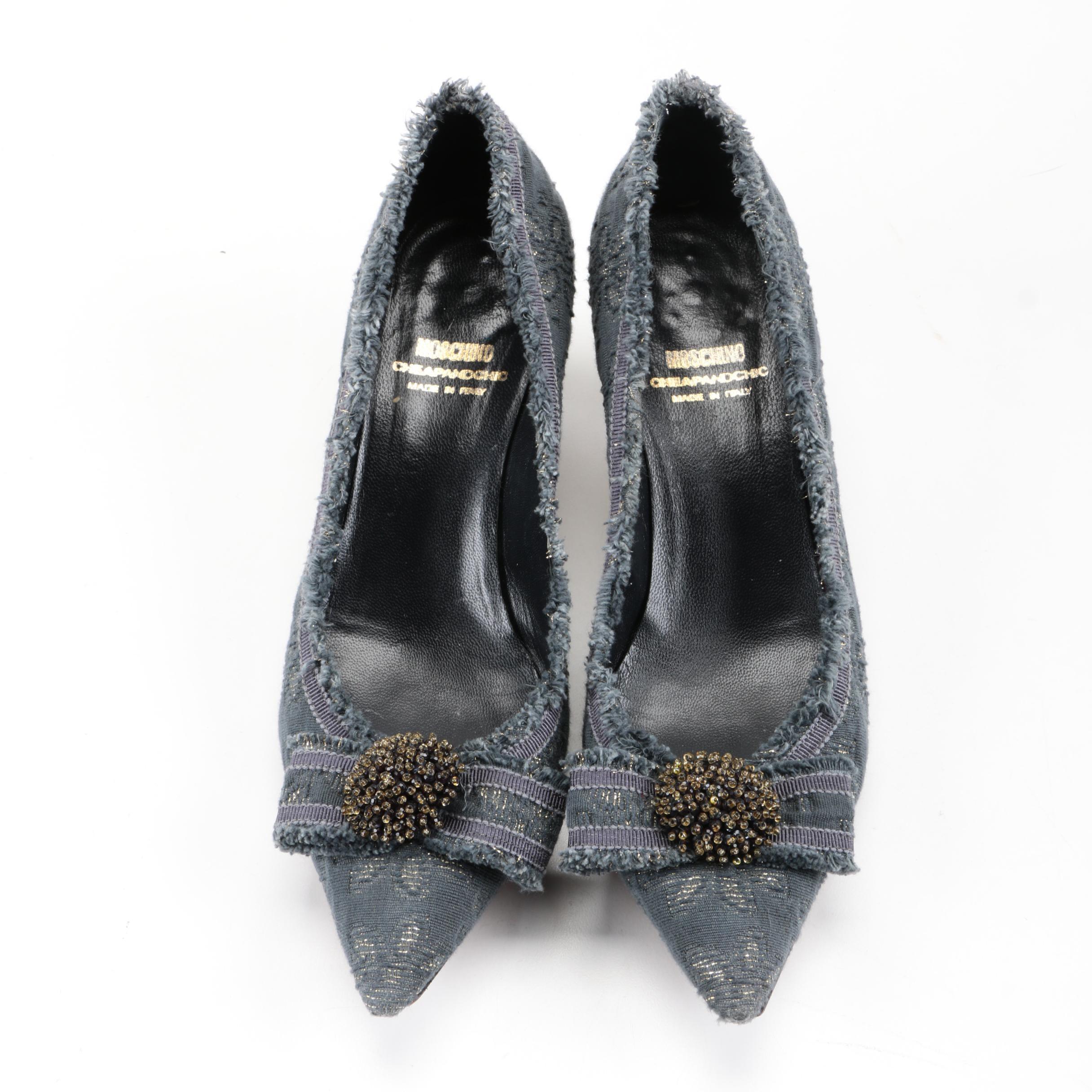 Moschino Cheap and Chic Kitten Heels