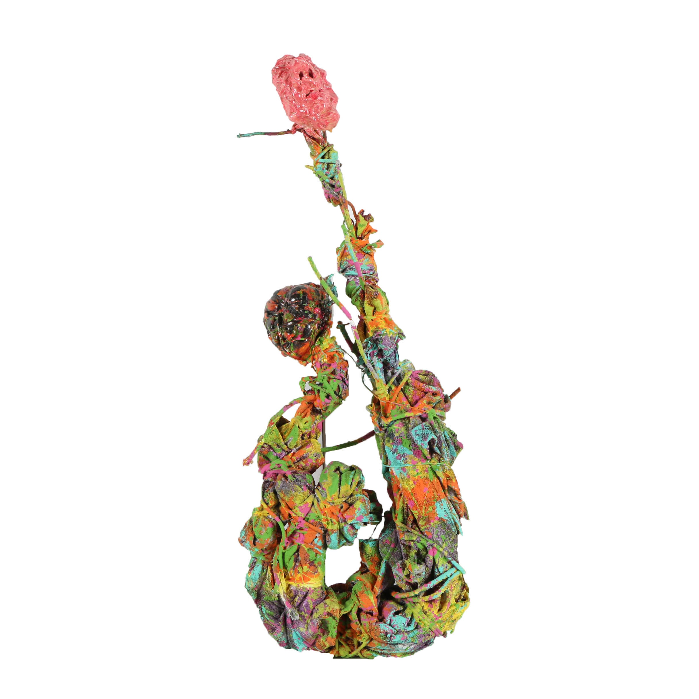 Frank Kowing Mixed Media Sculpture Abstract Humanoid Figure