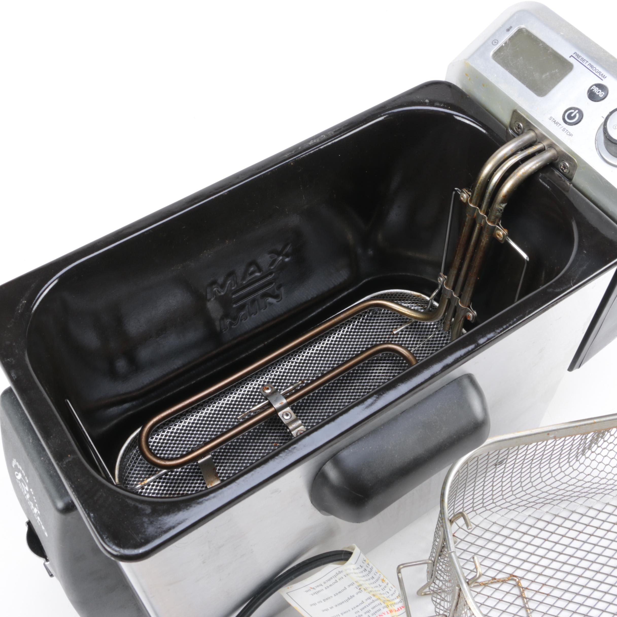 Image Result For Wolfgang Puck Deep Fryer
