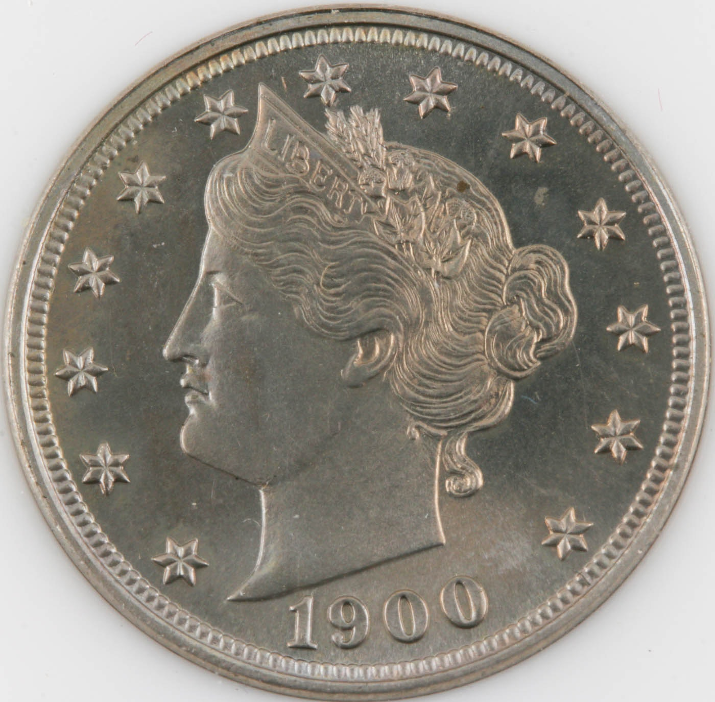 1900 Liberty Head Nickel Proof Coin