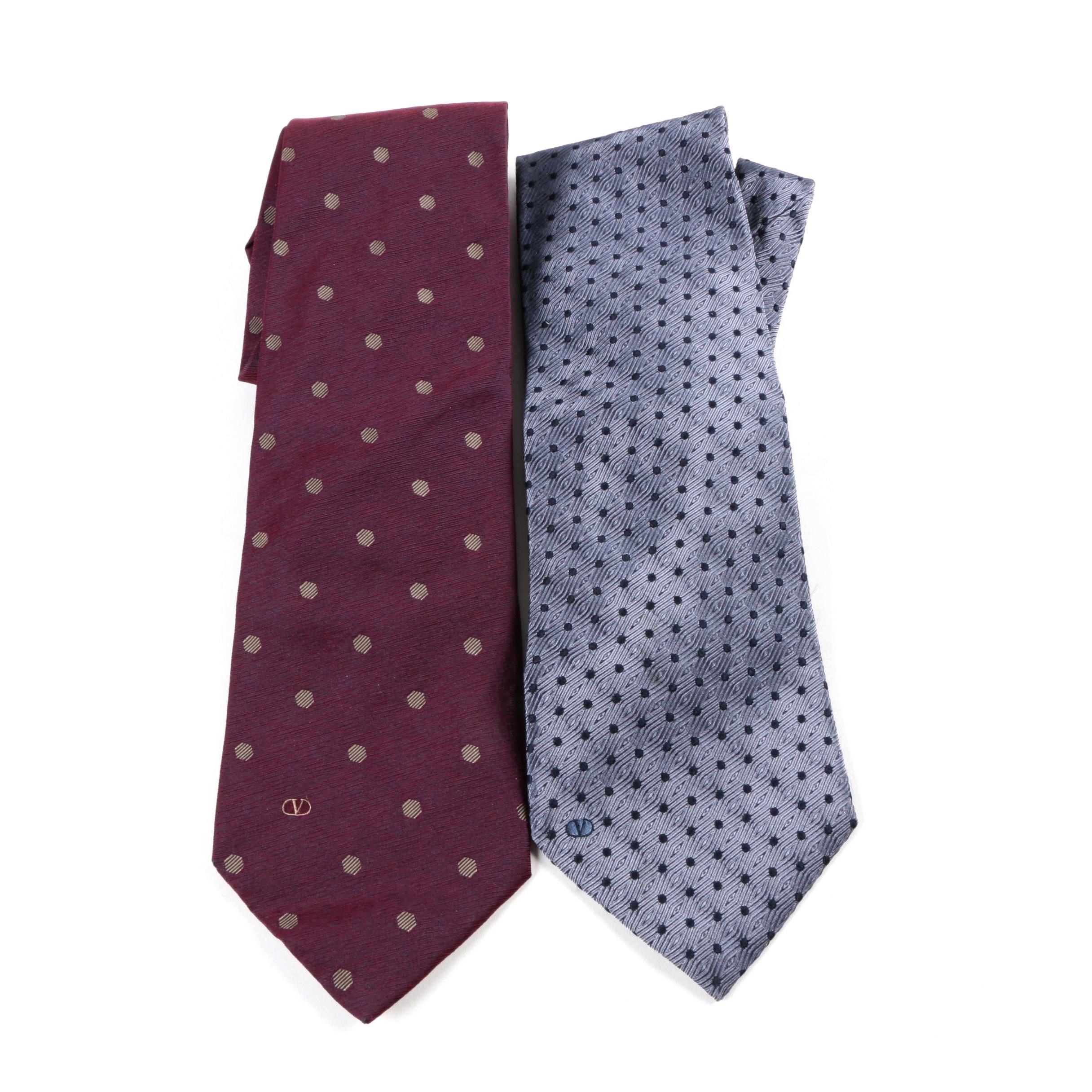 Valentino Silk Ties