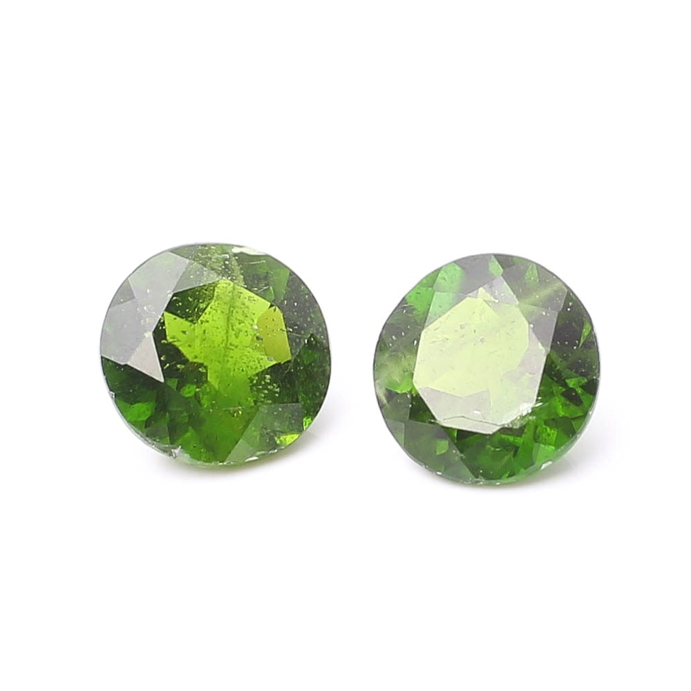Loose Chrome Diopside Stones