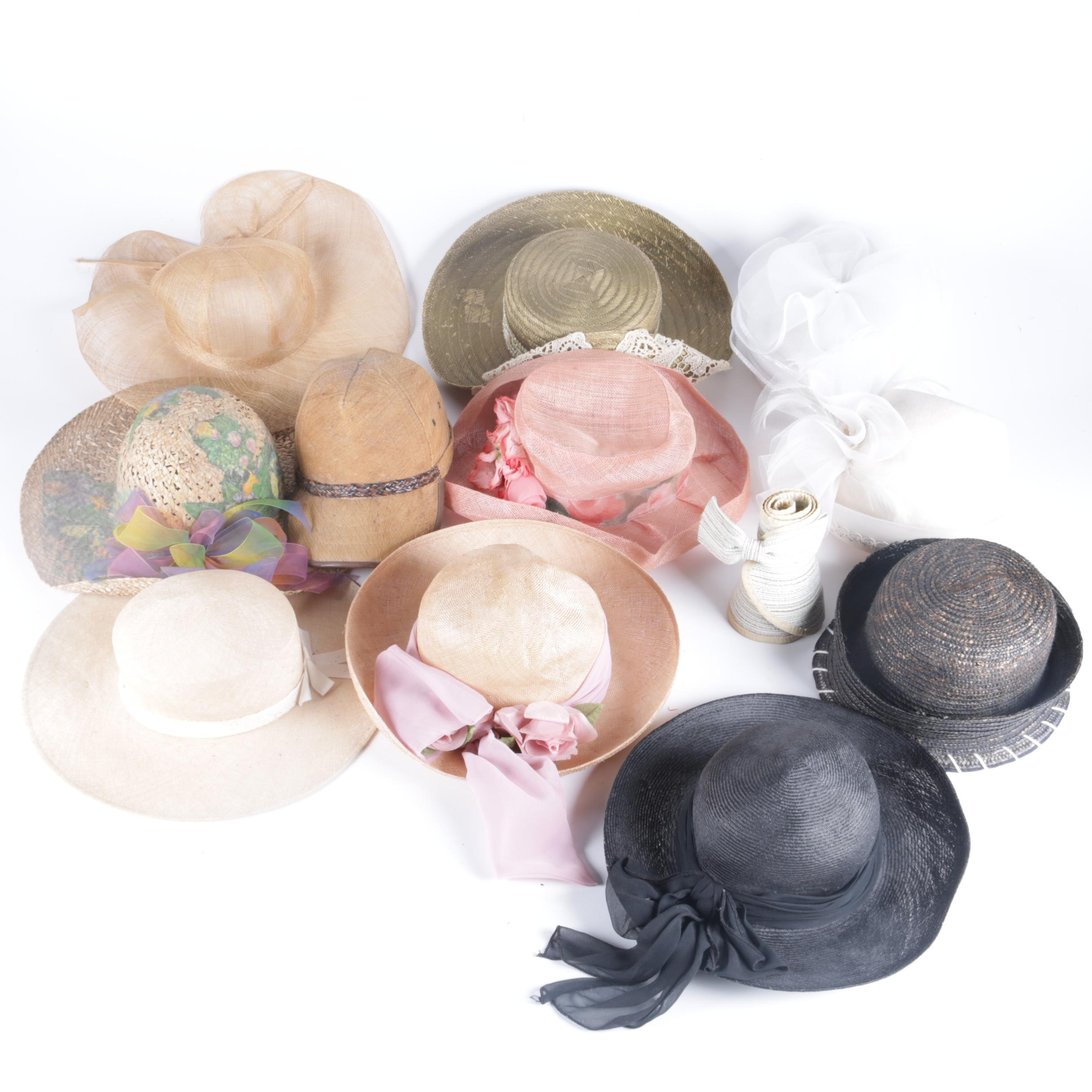 Women's Straw Hat and Sun Hat Collection