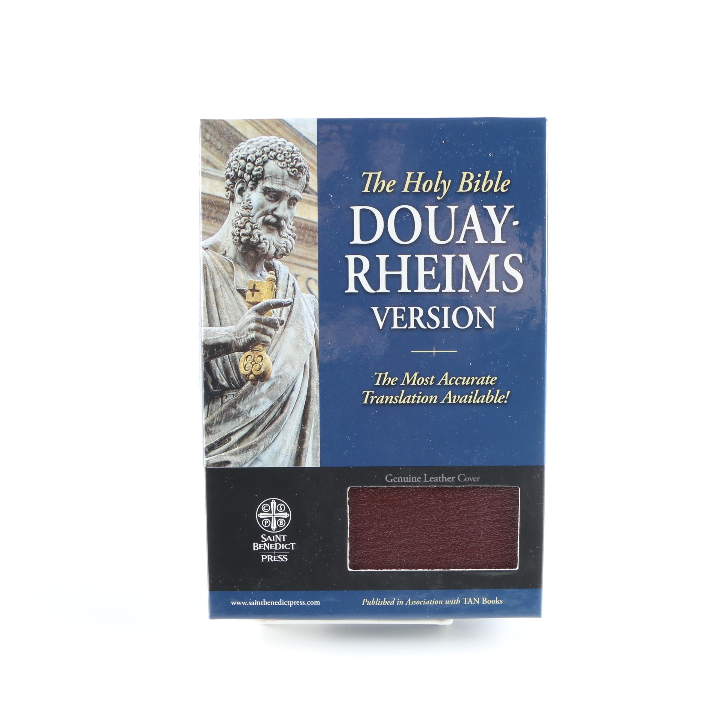 Douay-Rheims Version of The Holy Bible