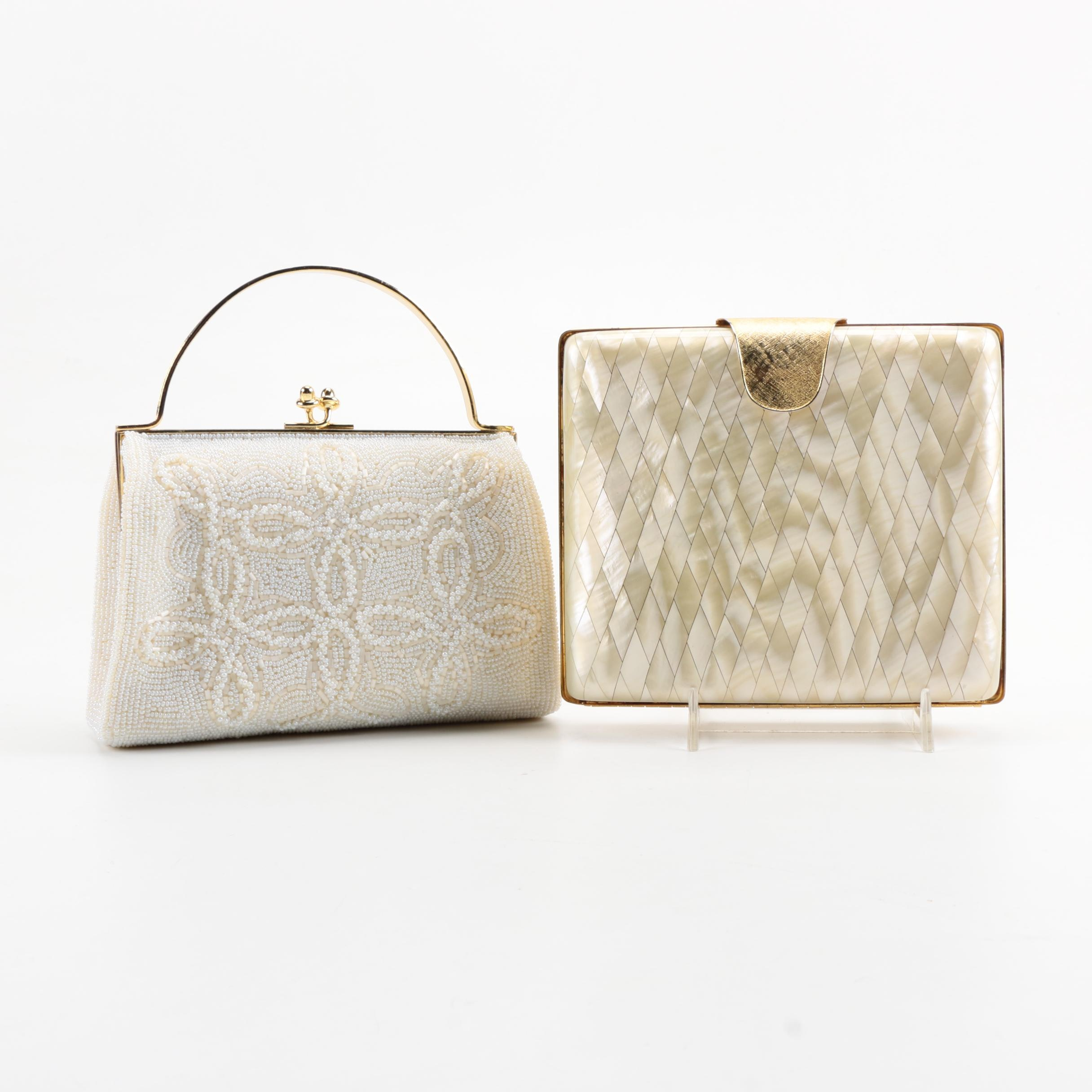 Vintage Beaded and Shell Clutches