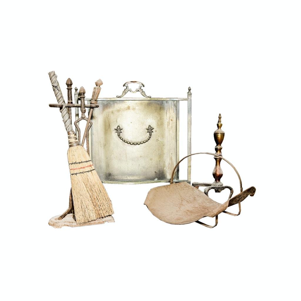 Brass Fireplace Accessories