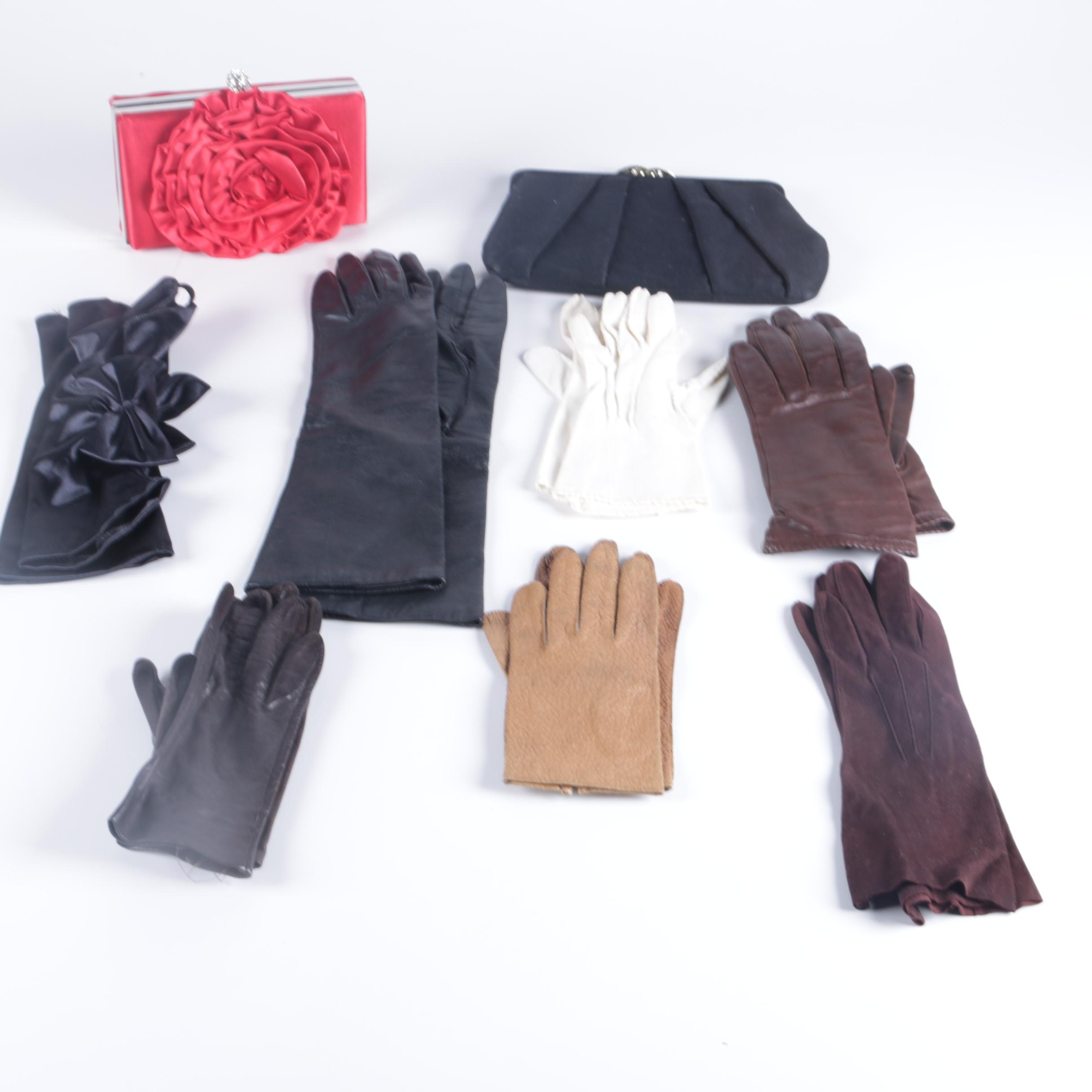Women's Gloves and Clutches