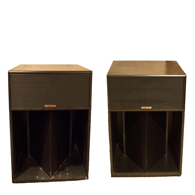 klipsch vintage speakers. klipsch la scala floorstanding speakers vintage