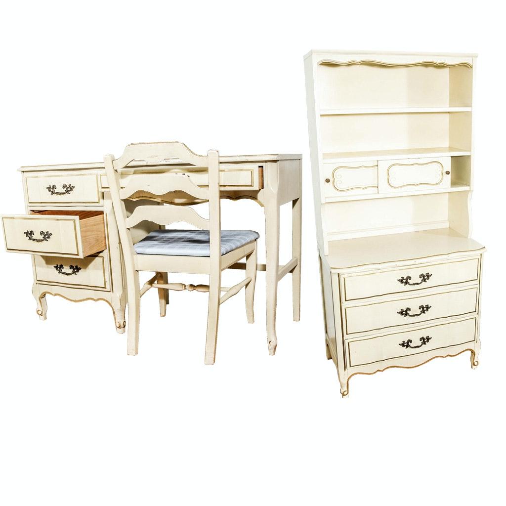 Maisonnette Desk and Hutch