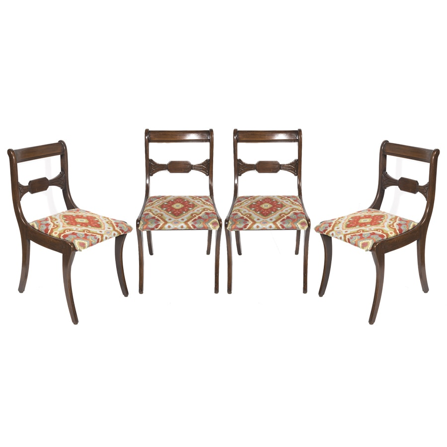 Set of Duncan Phyfe Style Dining Chairs