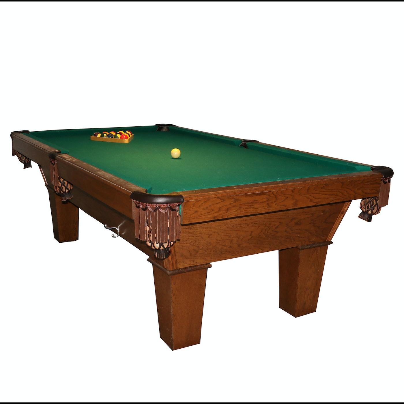 Oak pool table ebth for Table 9a of gstr 1