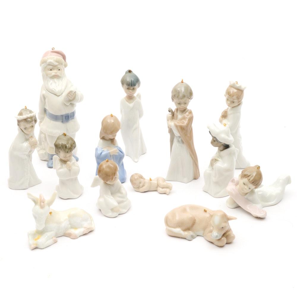 Lladro Nativity Ornament Set