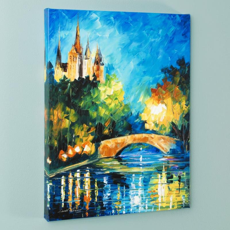 "Leonid Afremov Limited Edition Giclee on Canvas ""Perfect Night"""