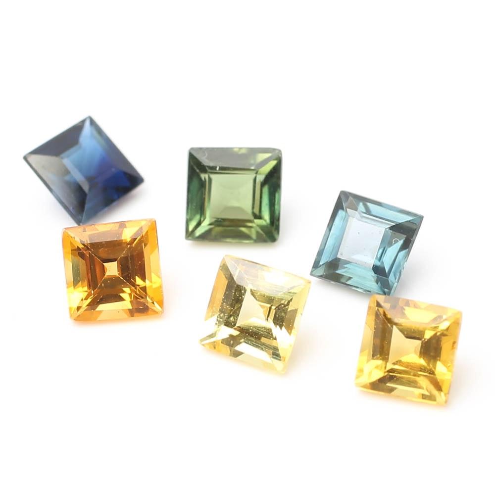 Loose Multi-Color Sapphires