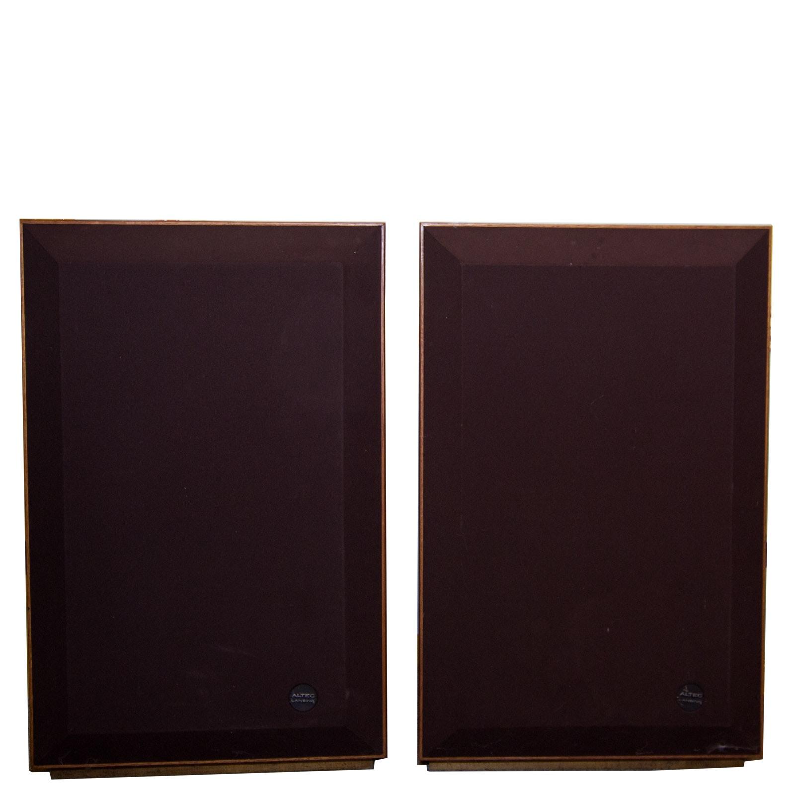 Pair of Altec Lansing Model 17 Speakers