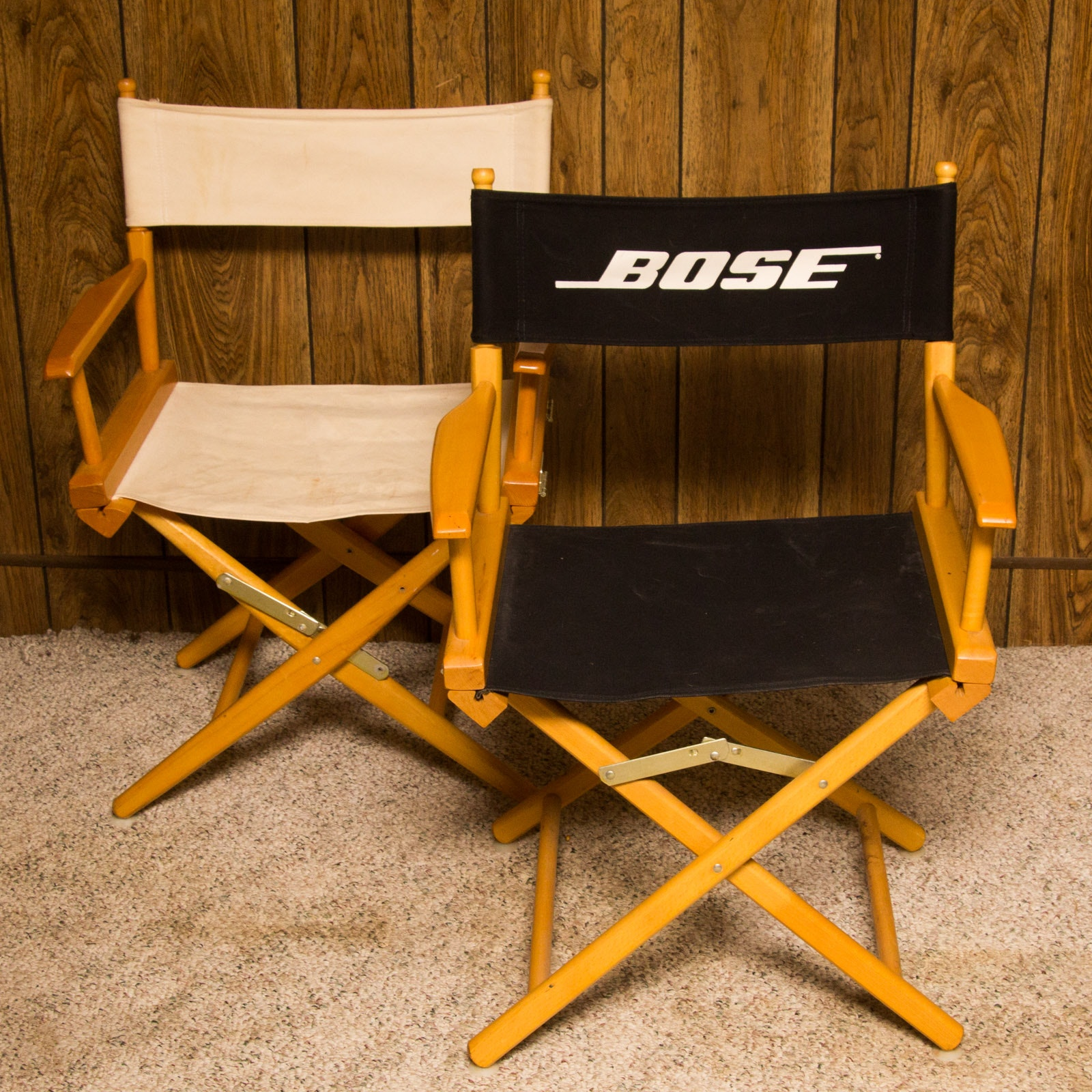 Two Director's Chairs