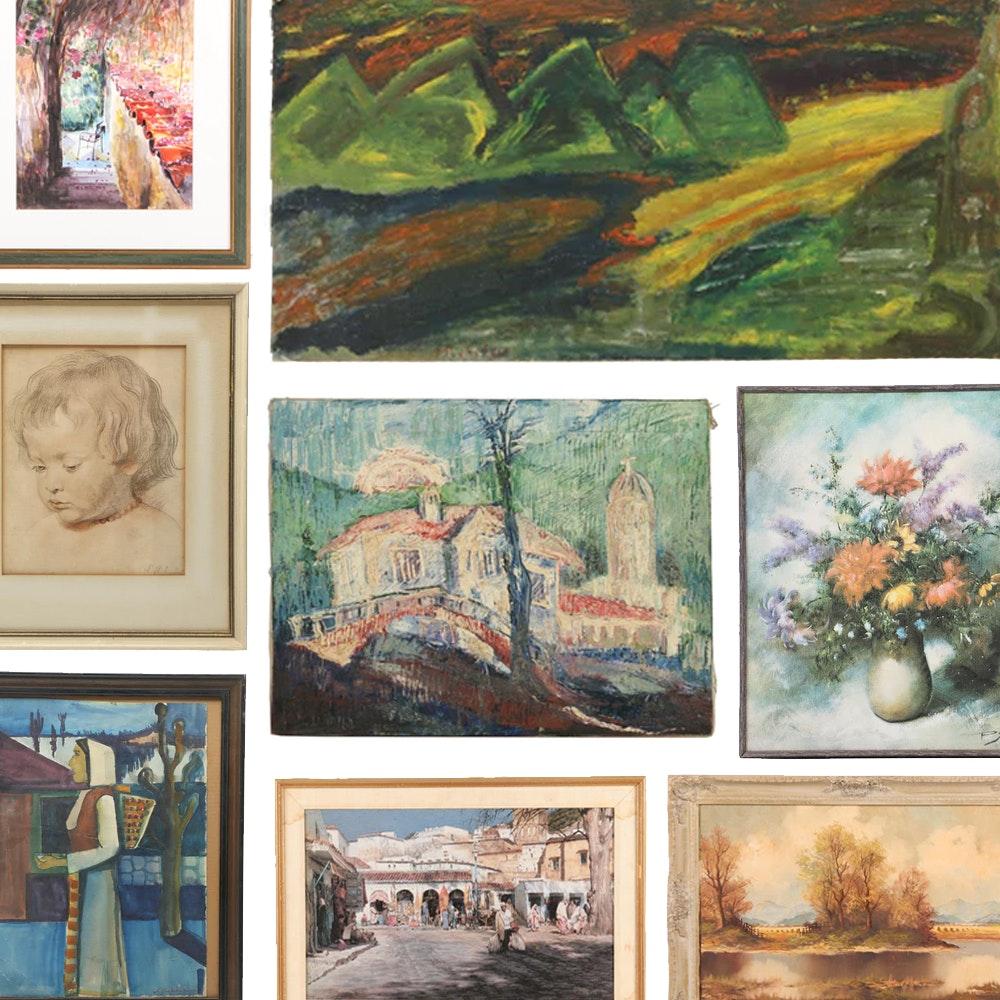 Fine Art, Rare Books & More