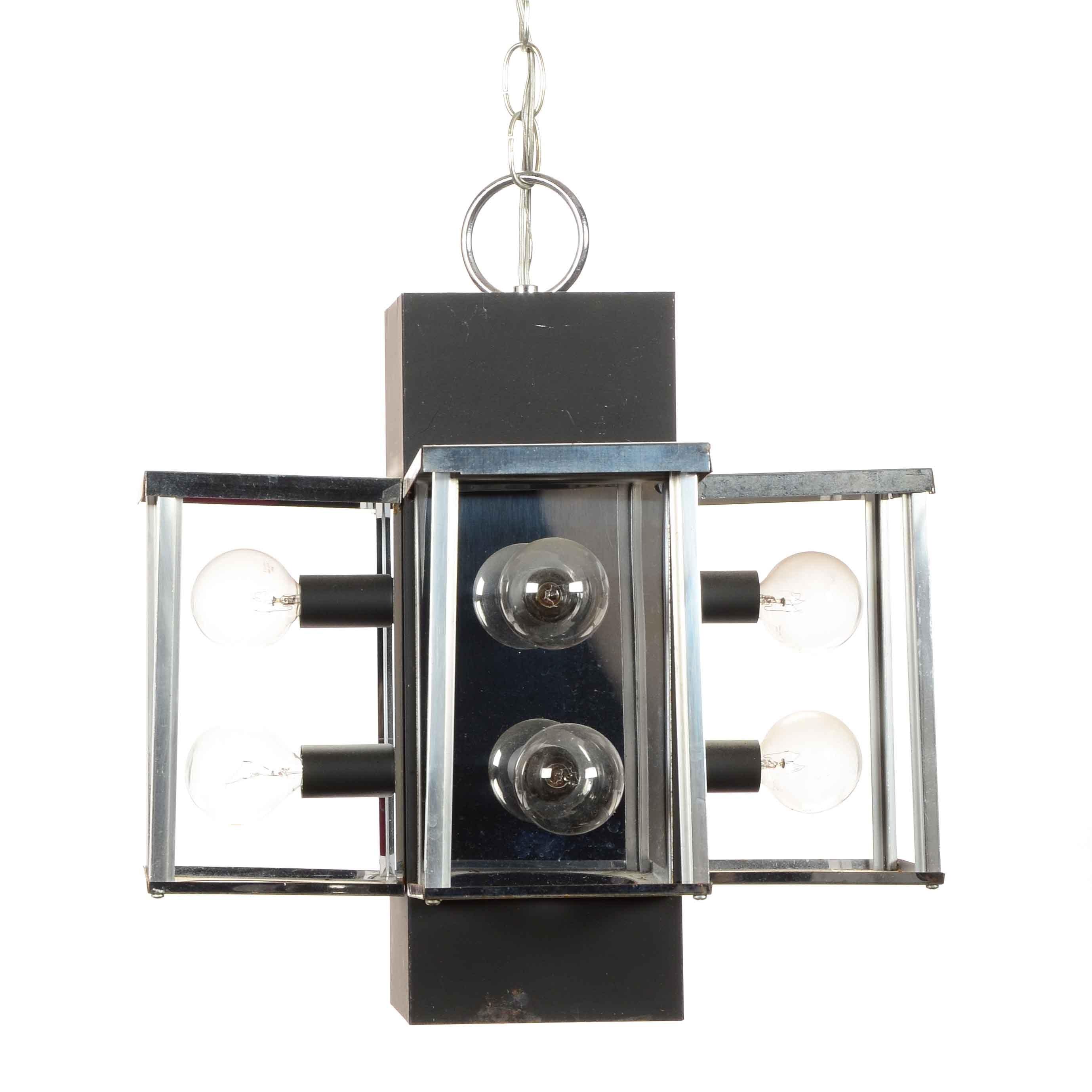 Modern Style Box Light Fixture