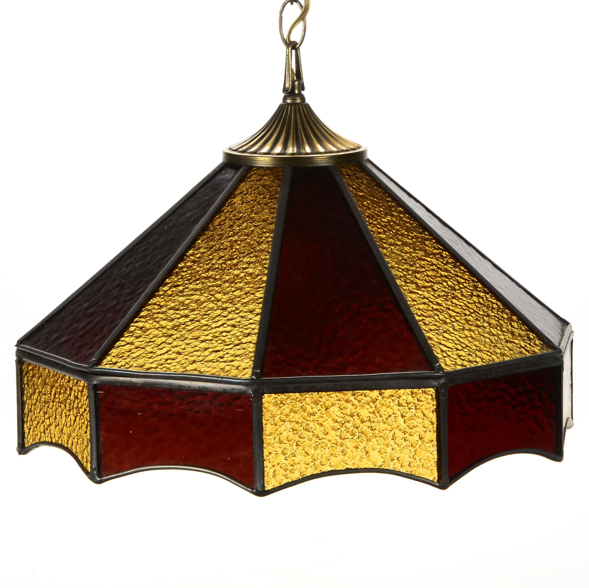 Tiffany Style Stained Glass Ceiling Pendant