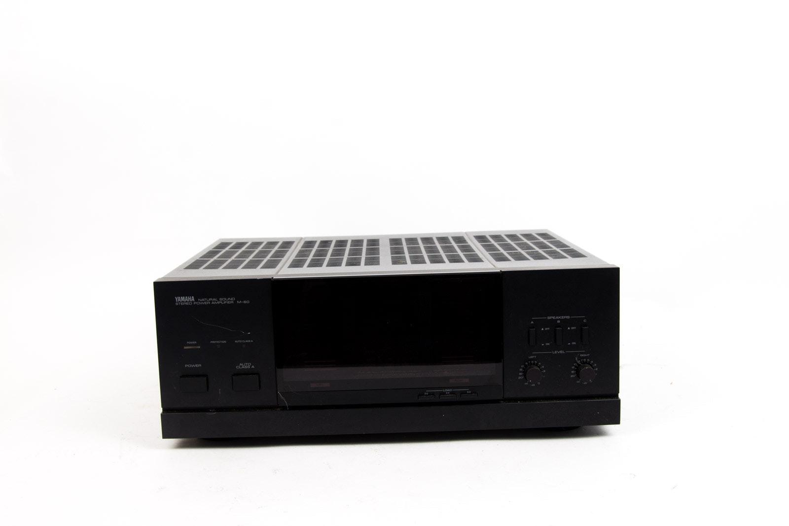 Yamaha M-60 Stereo Power Amplifier