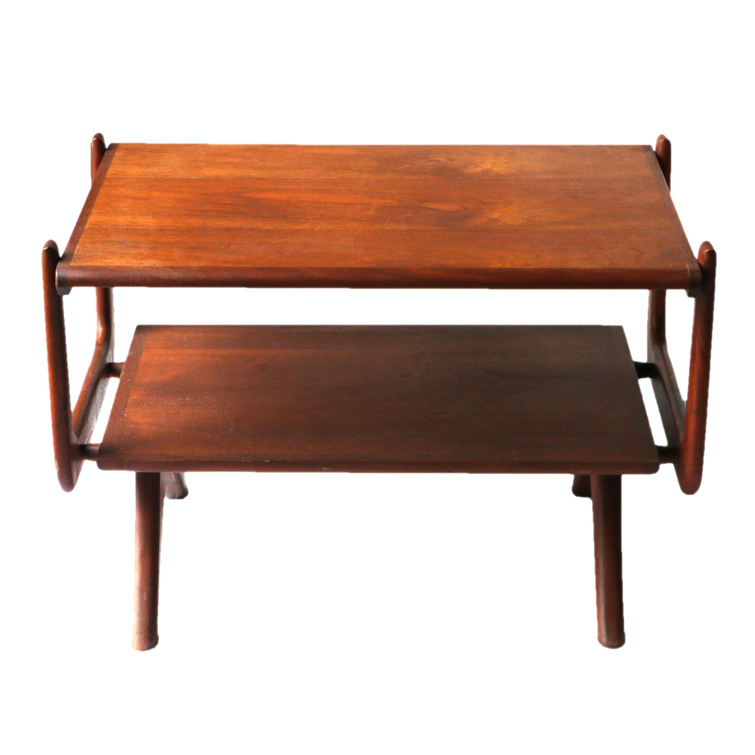 Mid Century Modern Walnut Coffee Table by Otmar